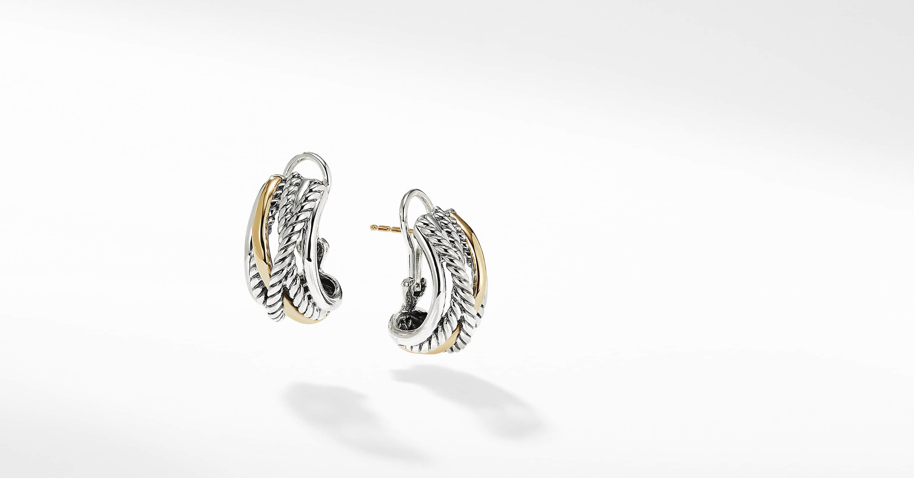 The Crossover Collection Earrings with 14K Yellow Gold