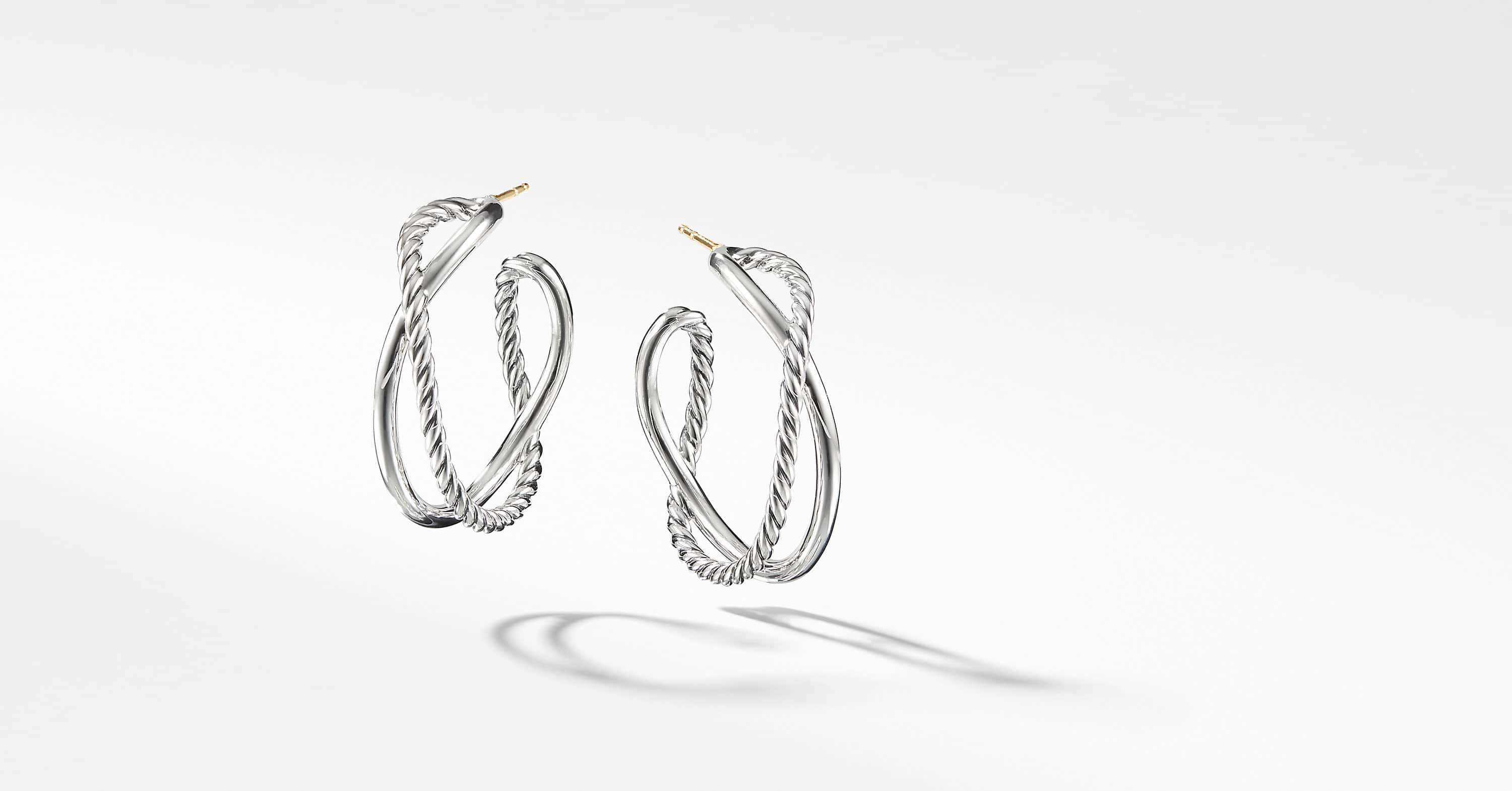 The Crossover Collection Hoop Earrings
