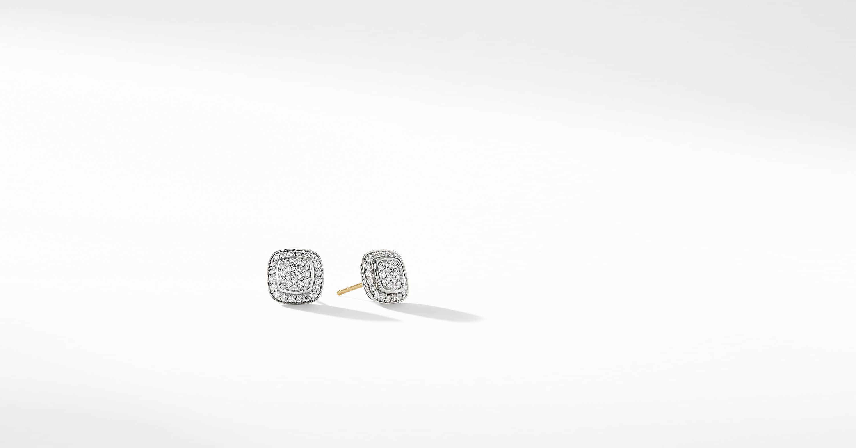 Petite Albion Full Pavé Earrings