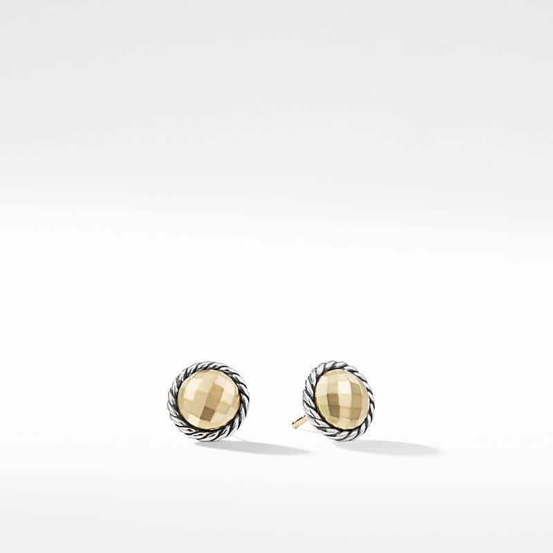 Chatelaine Earrings with 18K Gold