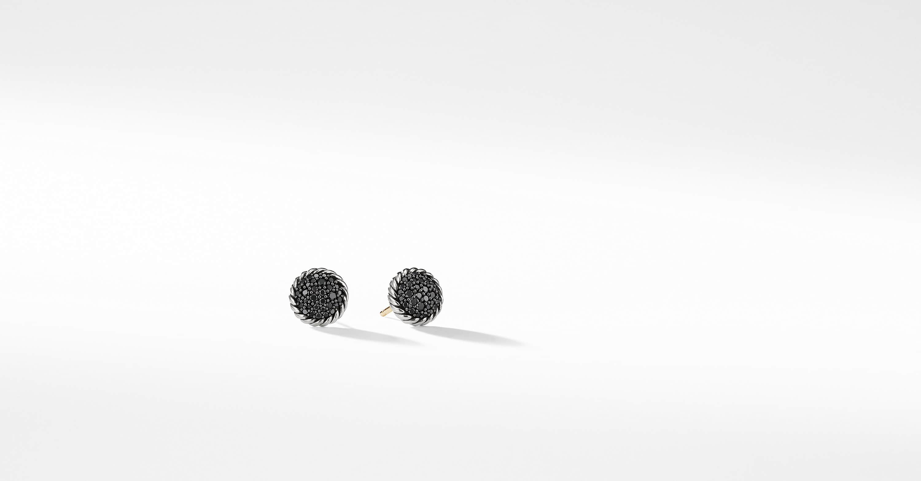 Petite Pave Earrings with Diamonds