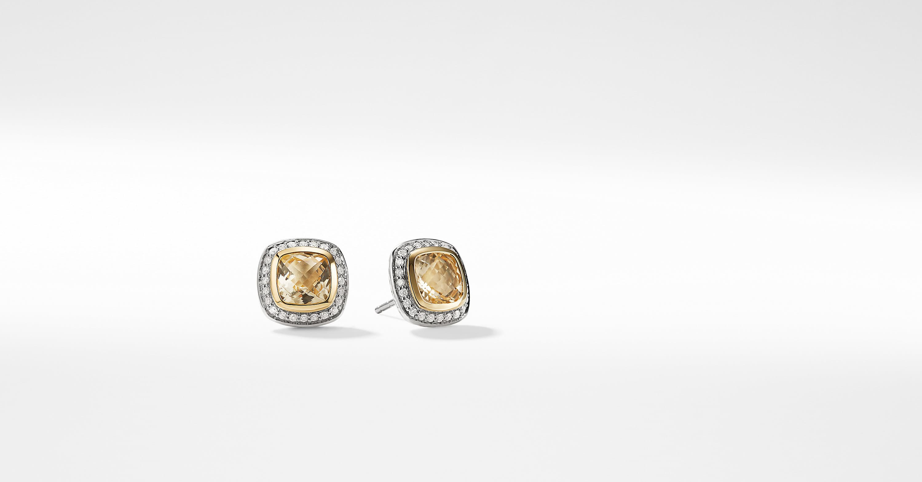 Albion Earrings with Diamonds and 18K Gold