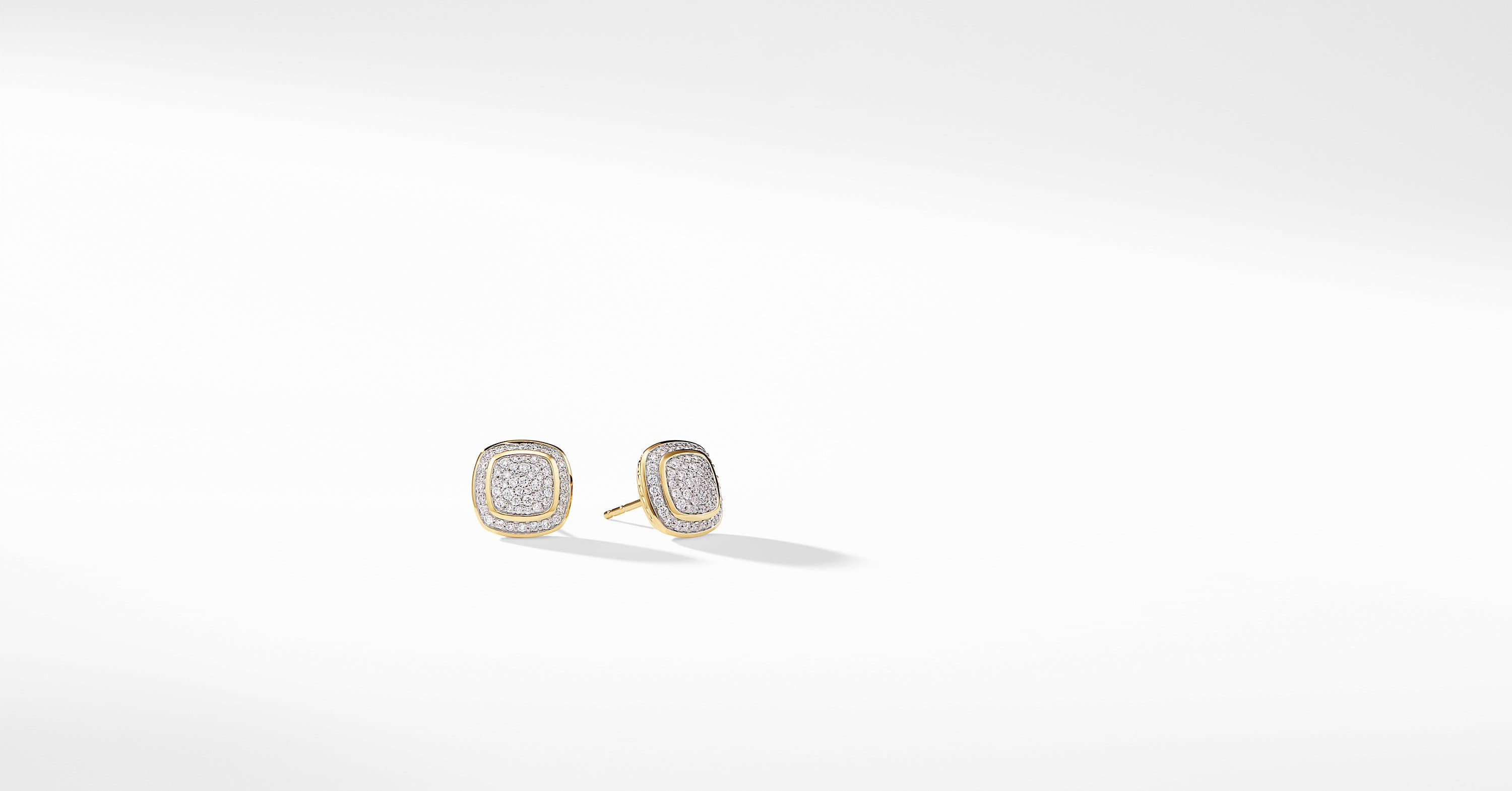 Albion Earrings with Diamonds in 18K Gold