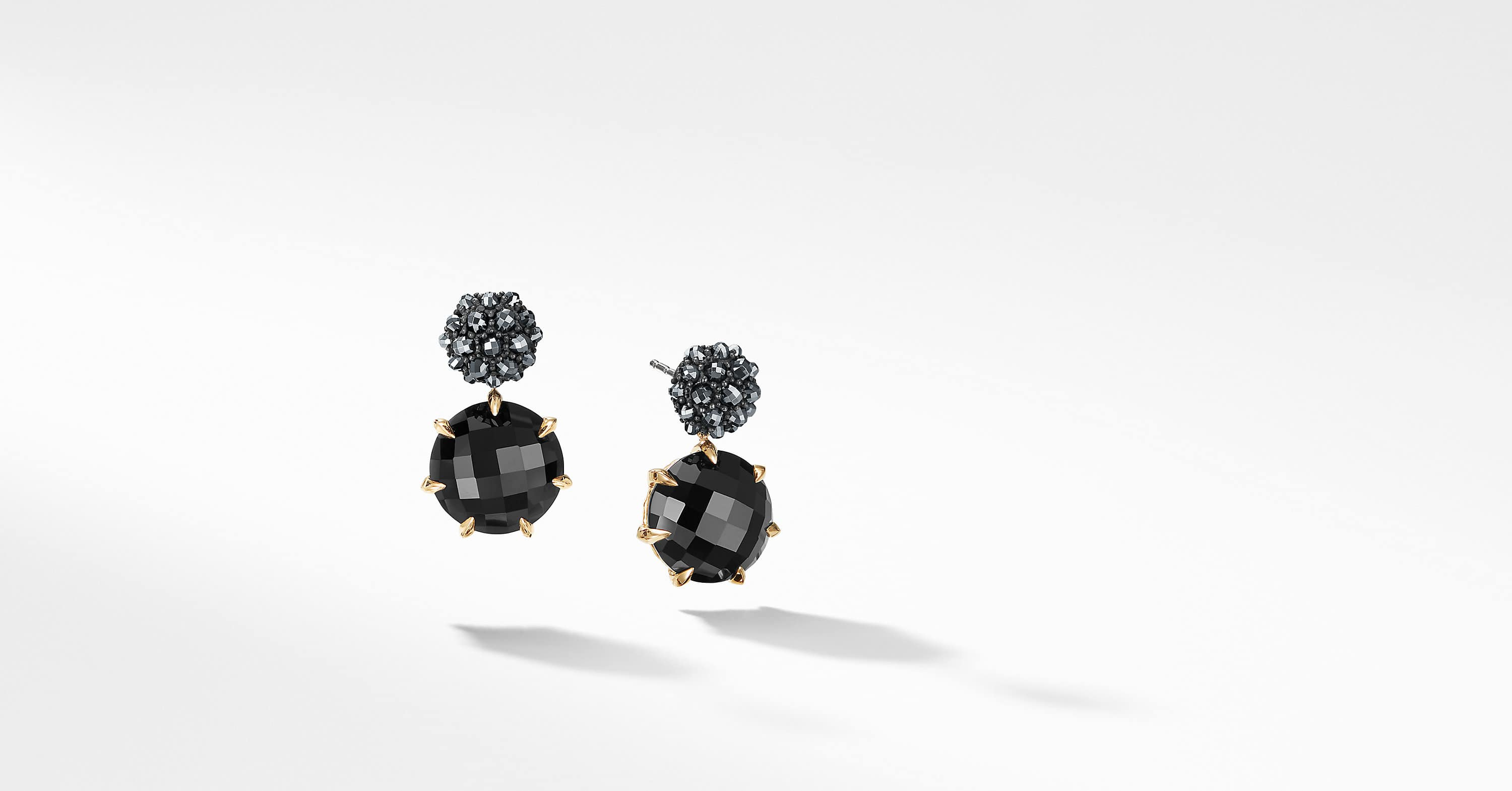 Cable Berries Drop Earrings with 18K Gold