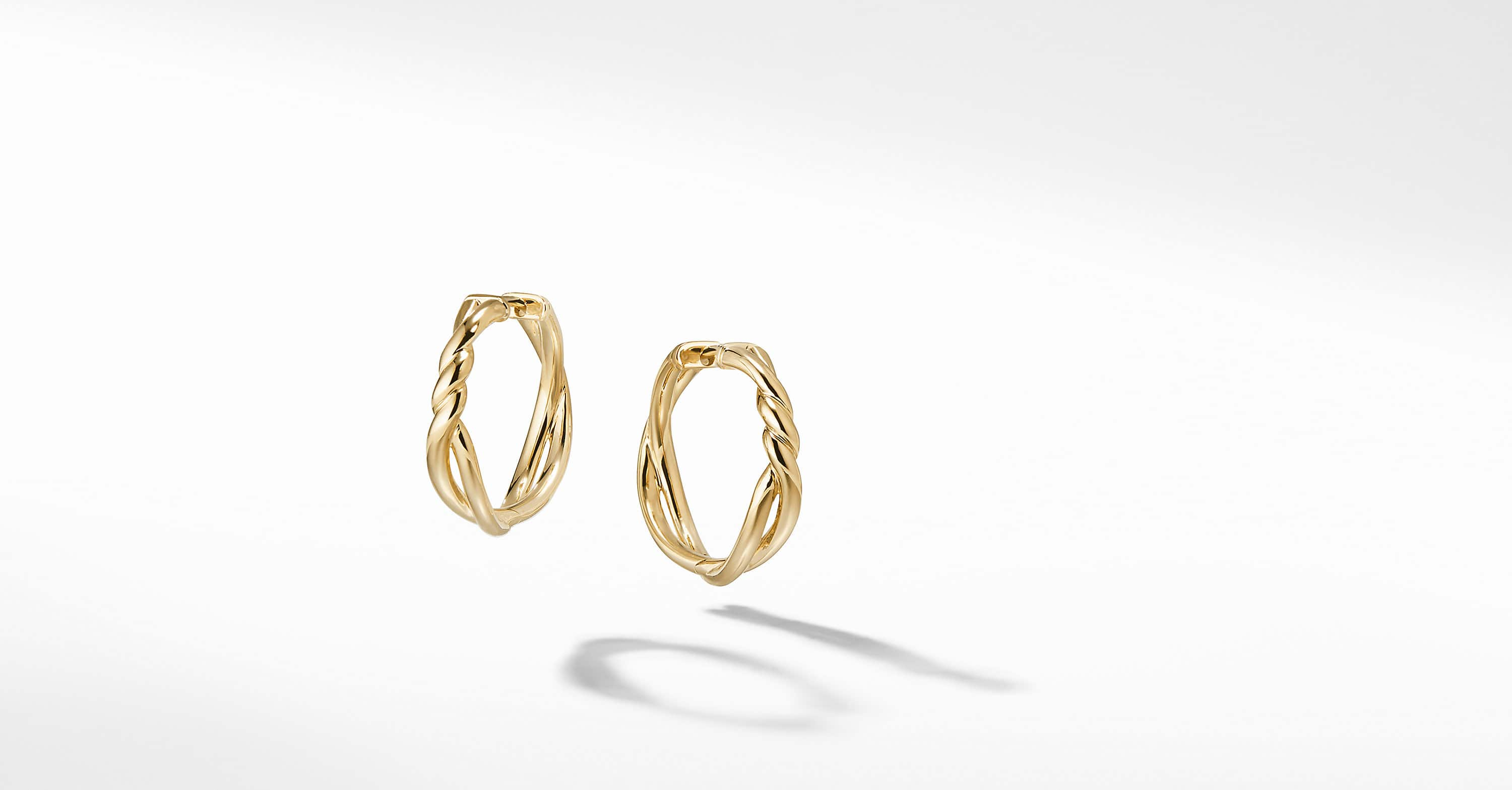 Continuance Hoop Earrings in 18K Gold