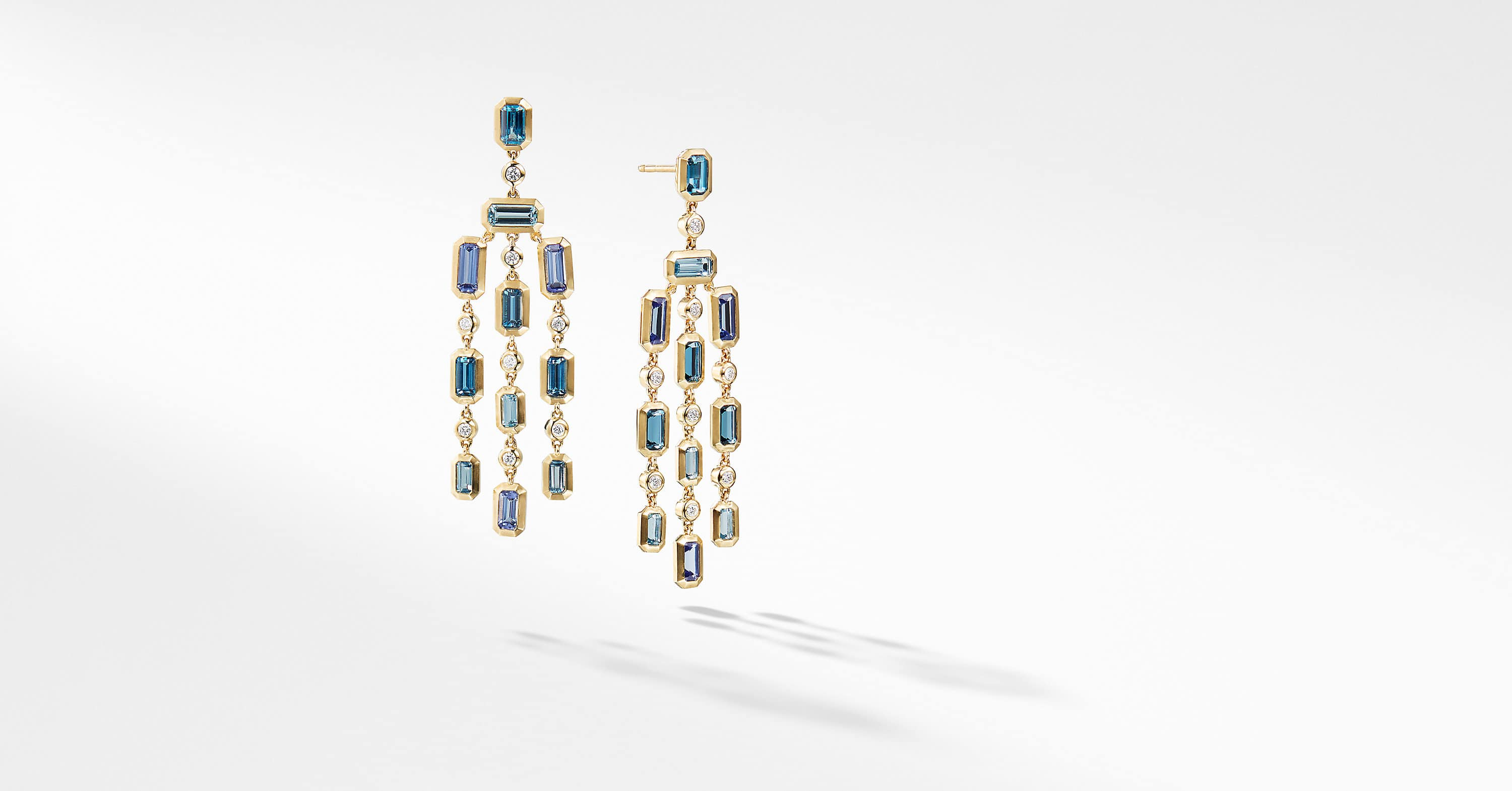 Novella Earrings in 18K Yellow Gold
