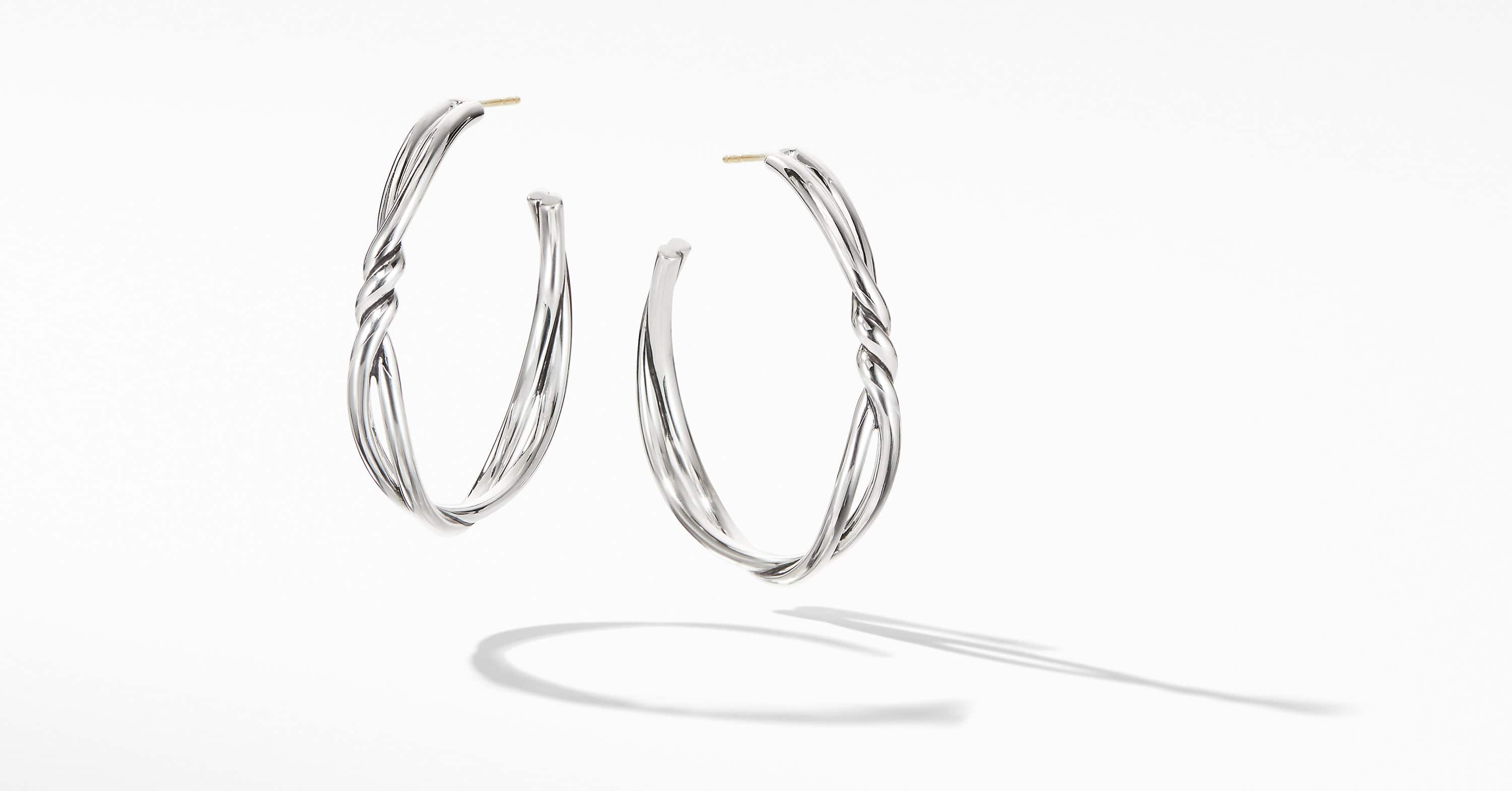 Continuance Large Hoop Earrings