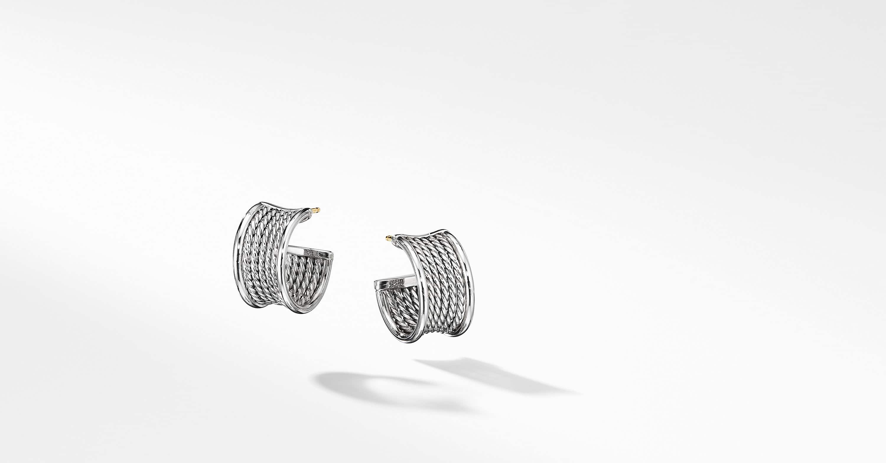Créoles DY Origami Cable