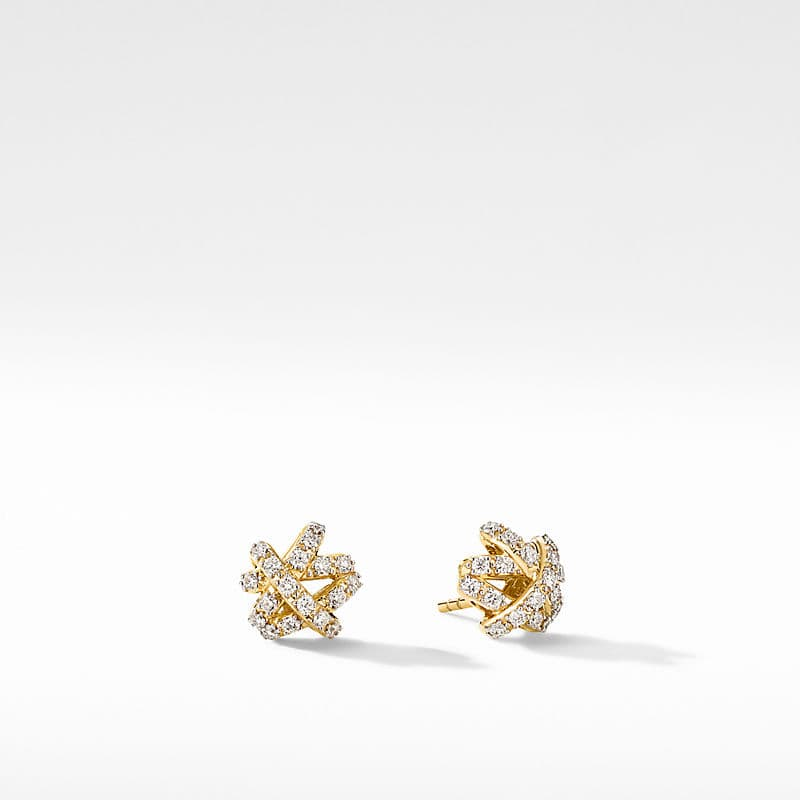 The Crossover Collection® Stud Earrings in 18K Yellow