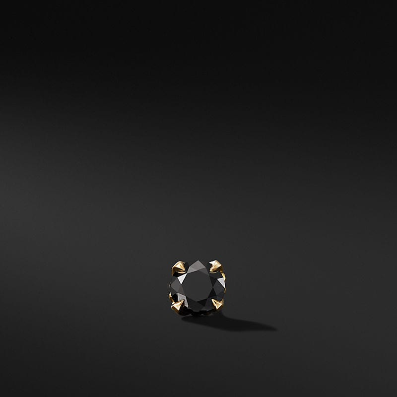 Stud Earring with 18K Yellow Gold