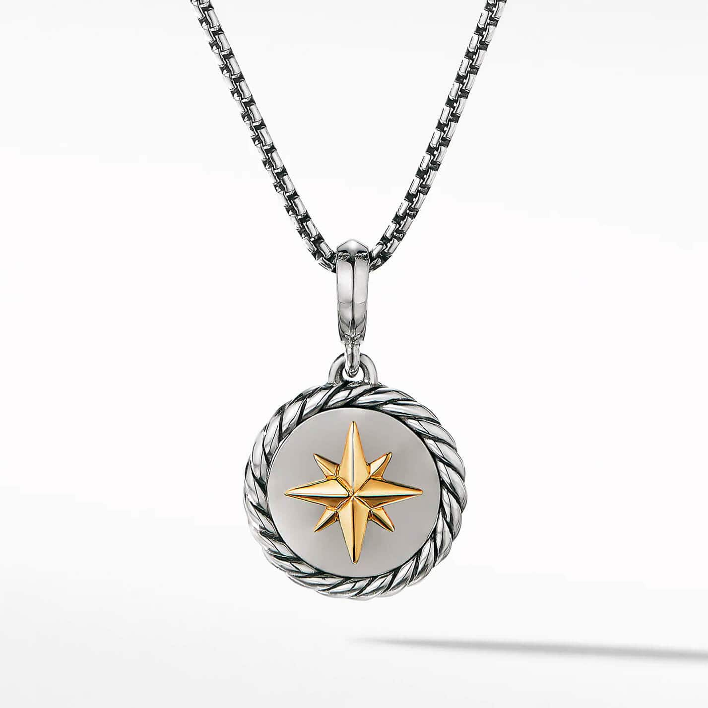 Product image of North Star Necklace with 18K Yellow Gold