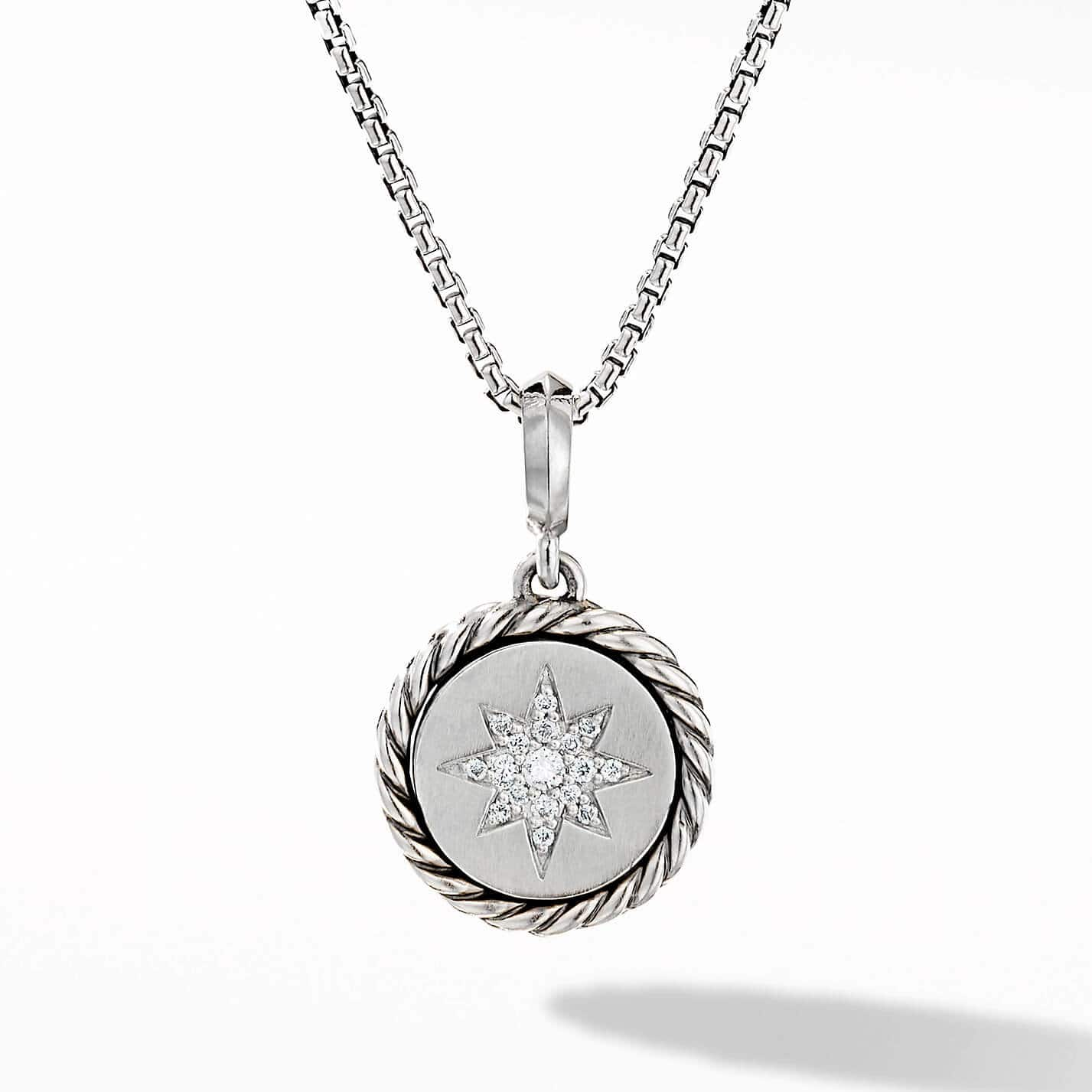 Product image of North Star Necklace with Diamonds