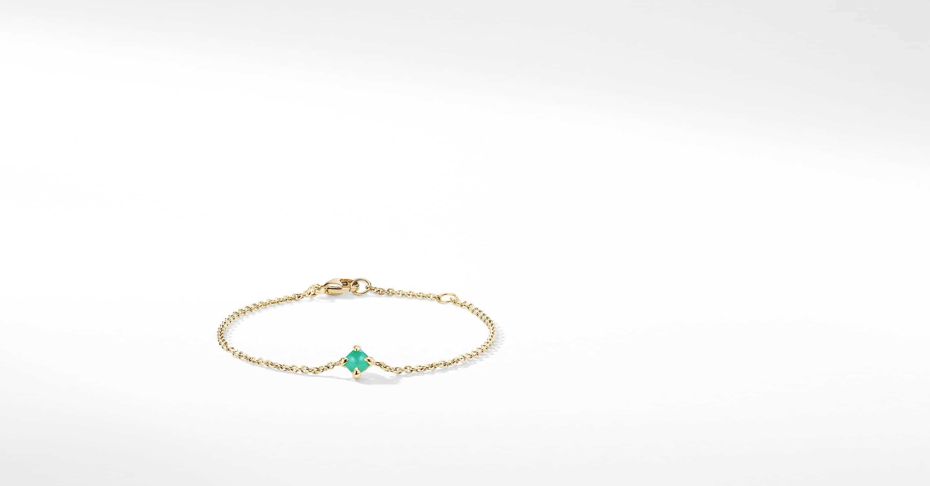 Chatelaine Kids Bracelet in 18K Gold, 4mm
