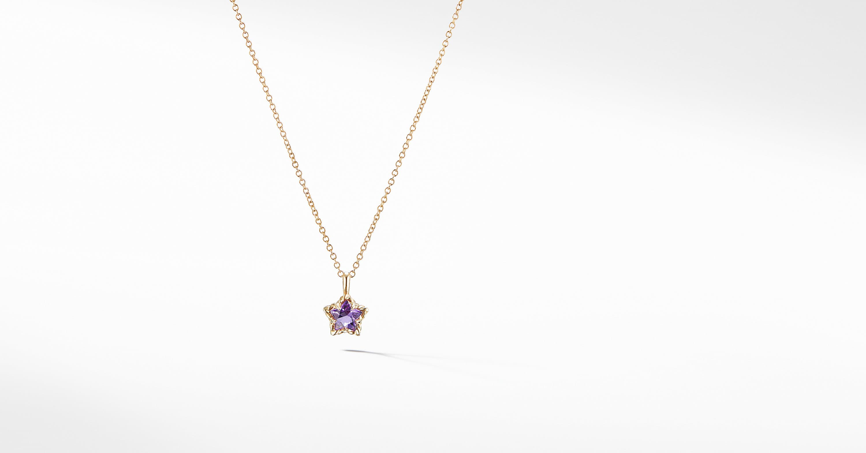 Cable Collectibles Kids Star Charm Necklace in 18K Gold
