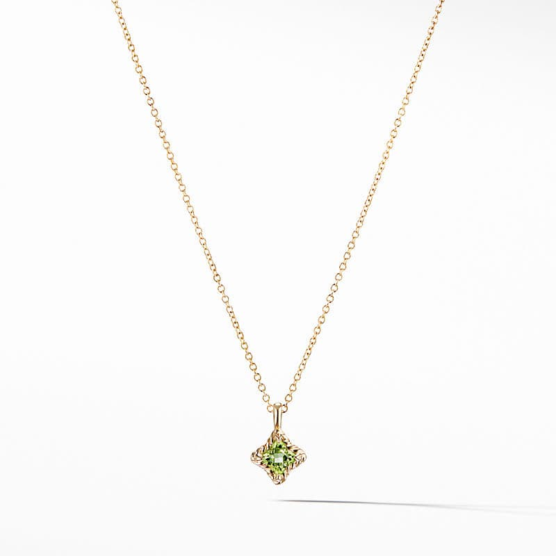Cable Collectibles Kids Quad Charm Necklace in 18K Gold