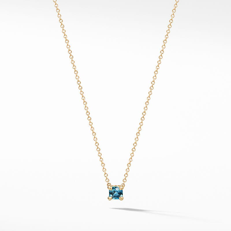 Chatelaine Kids Necklace in 18K Gold