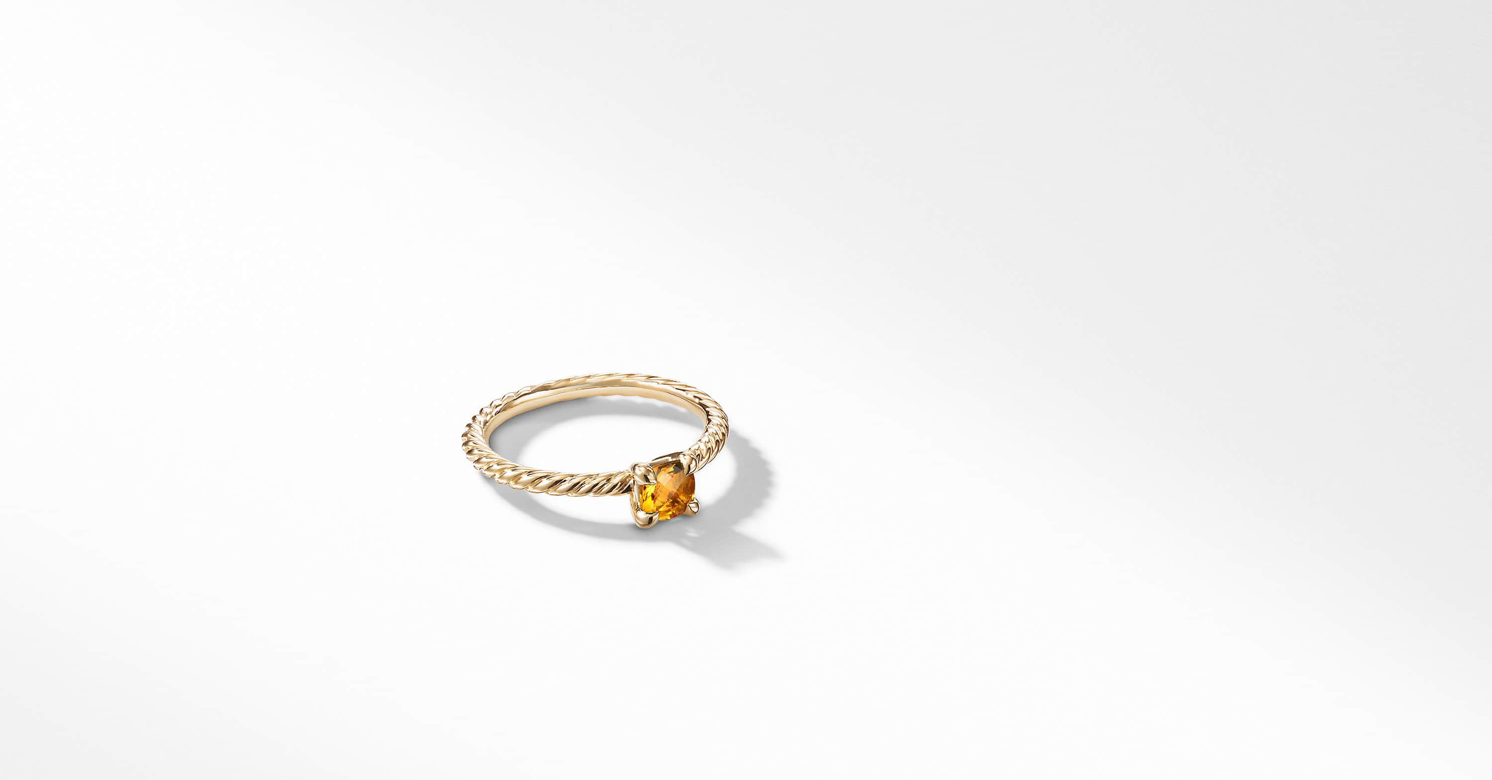 Chatelaine Kids Ring in 18K Gold, 4mm