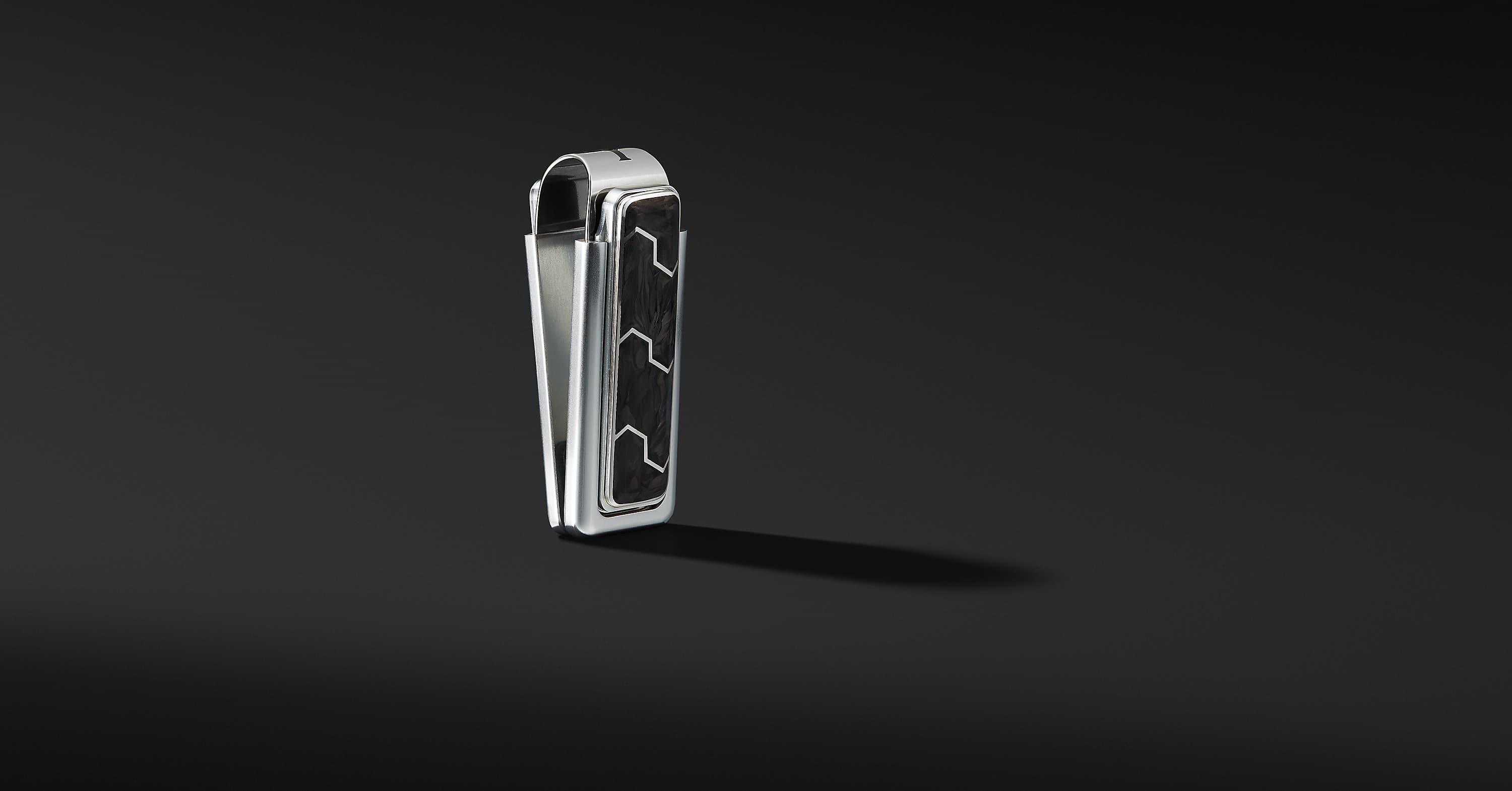 Forged Carbon Money Clip