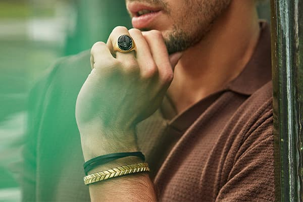 Shop green summer jewelry for men
