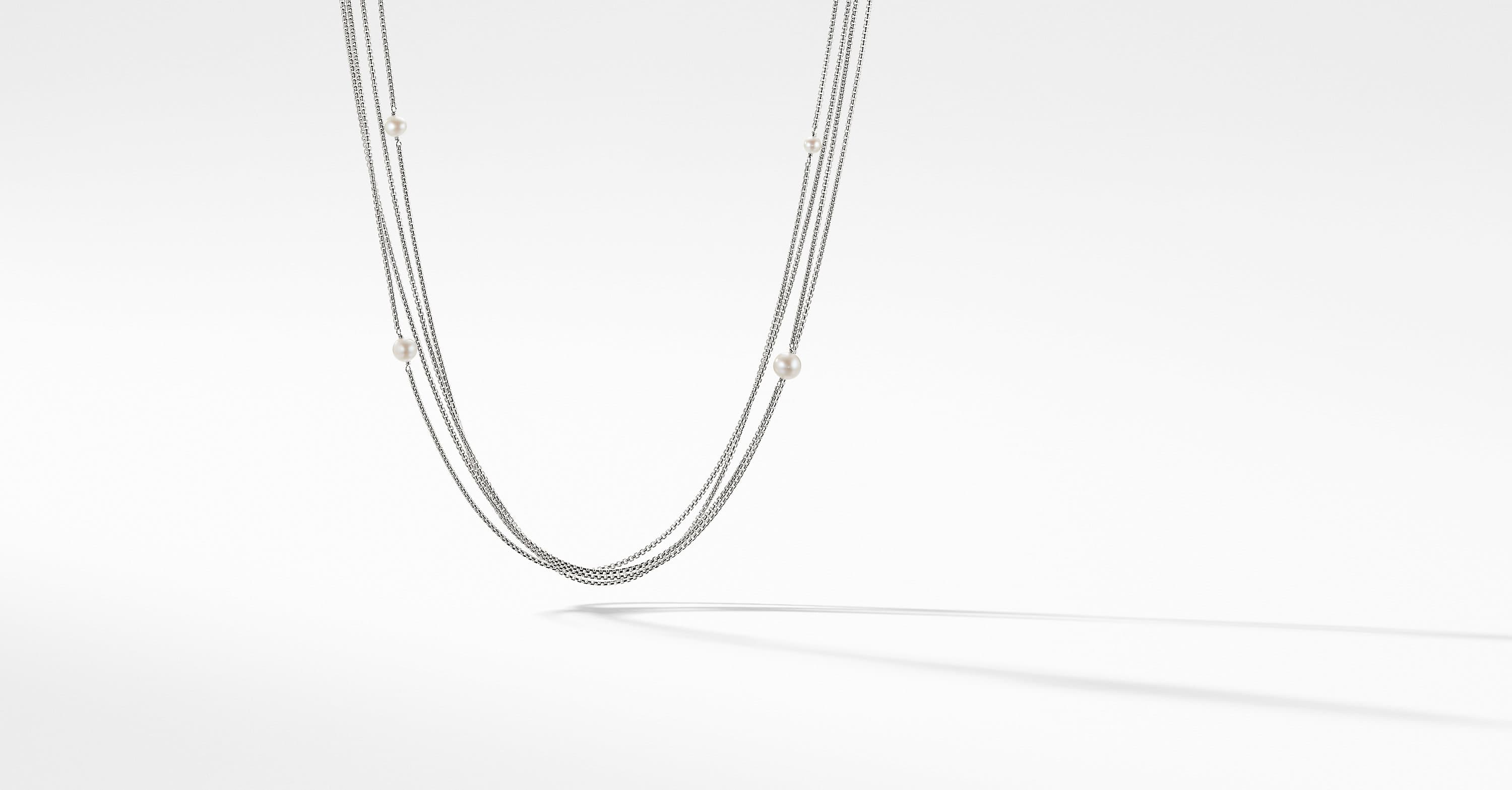 Four-Row Chain Necklace