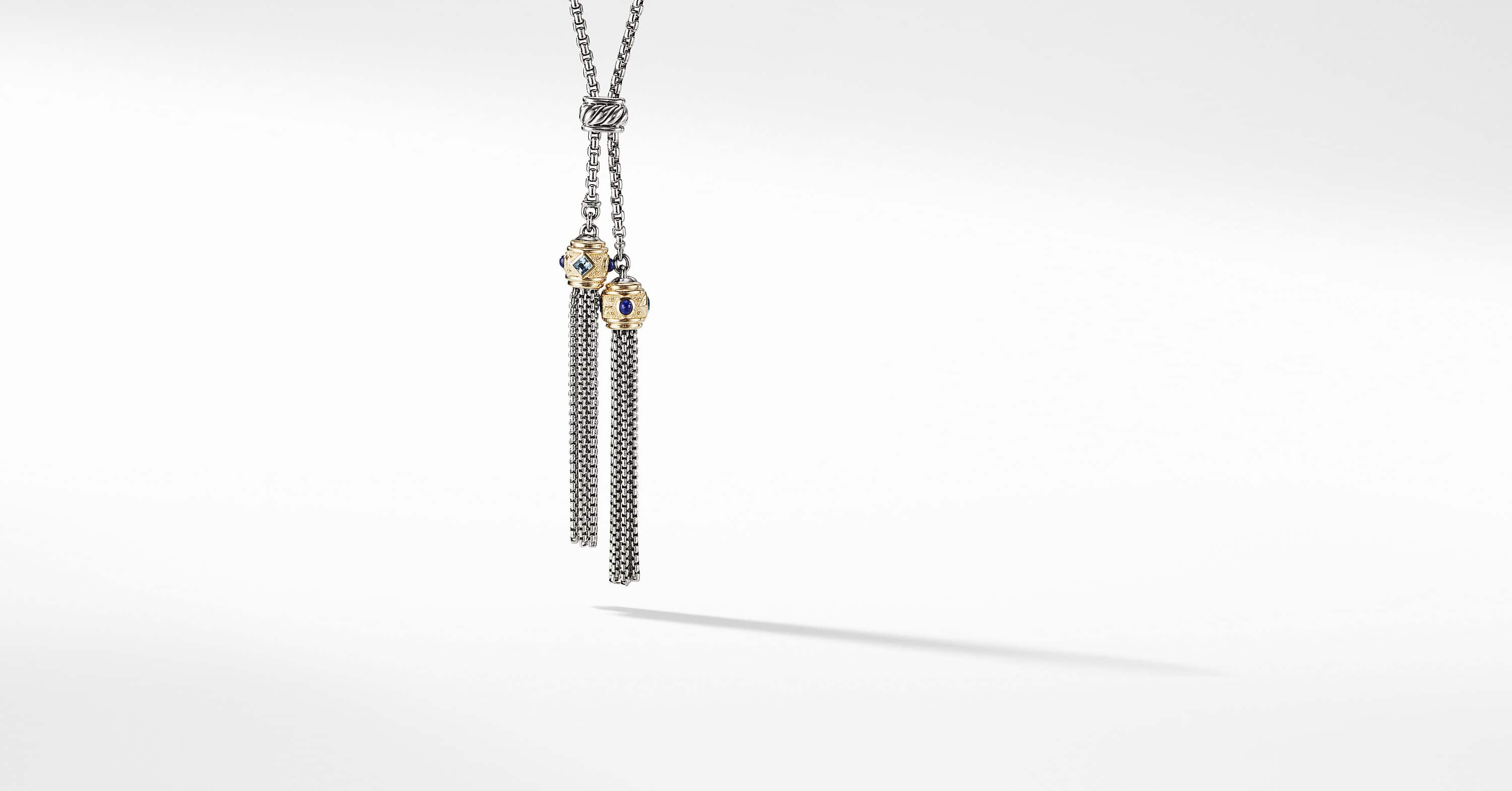 Renaissance Tassel Necklace with 14K Gold
