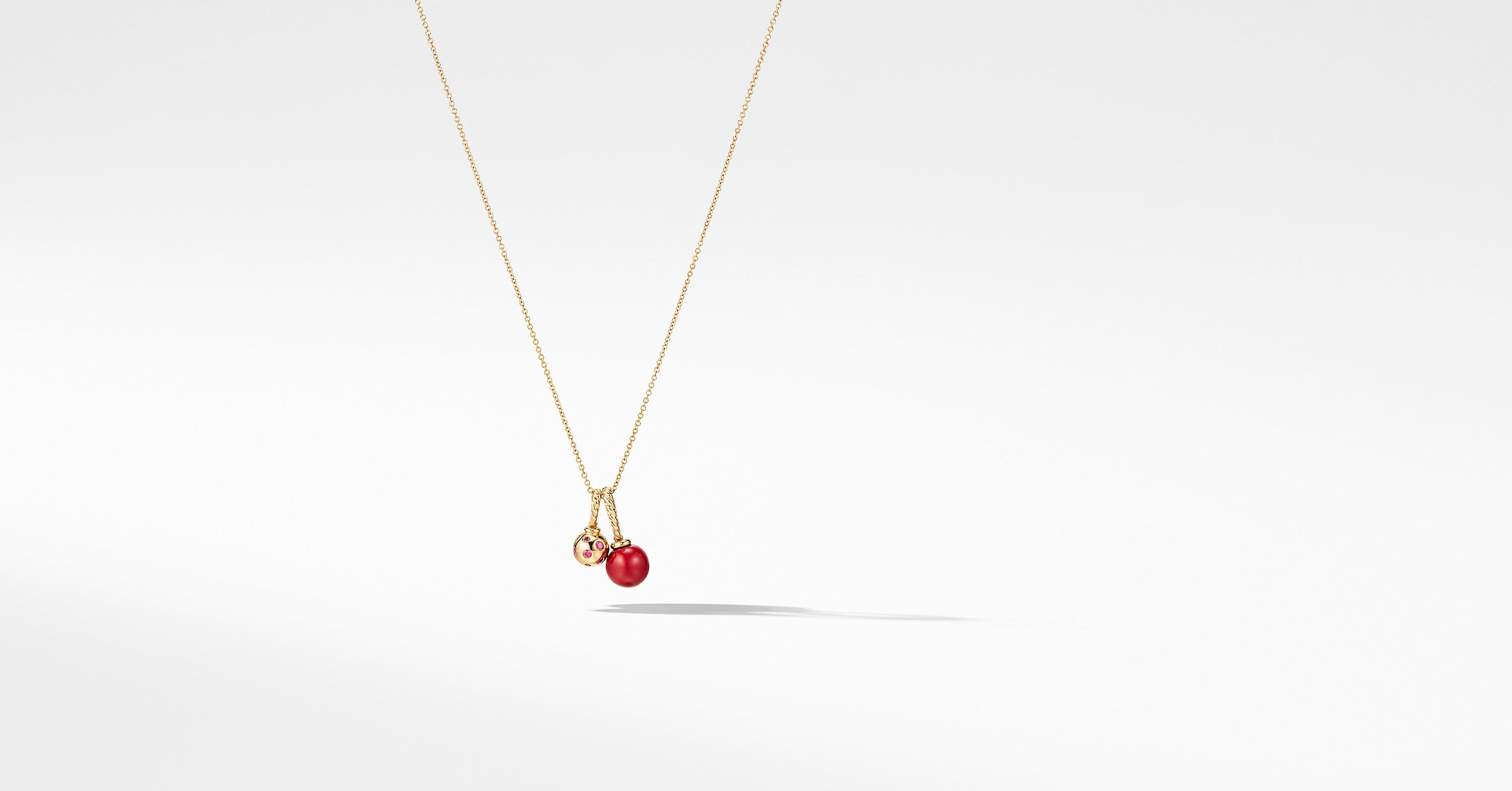 Solari Pendant Necklace in 18K Gold