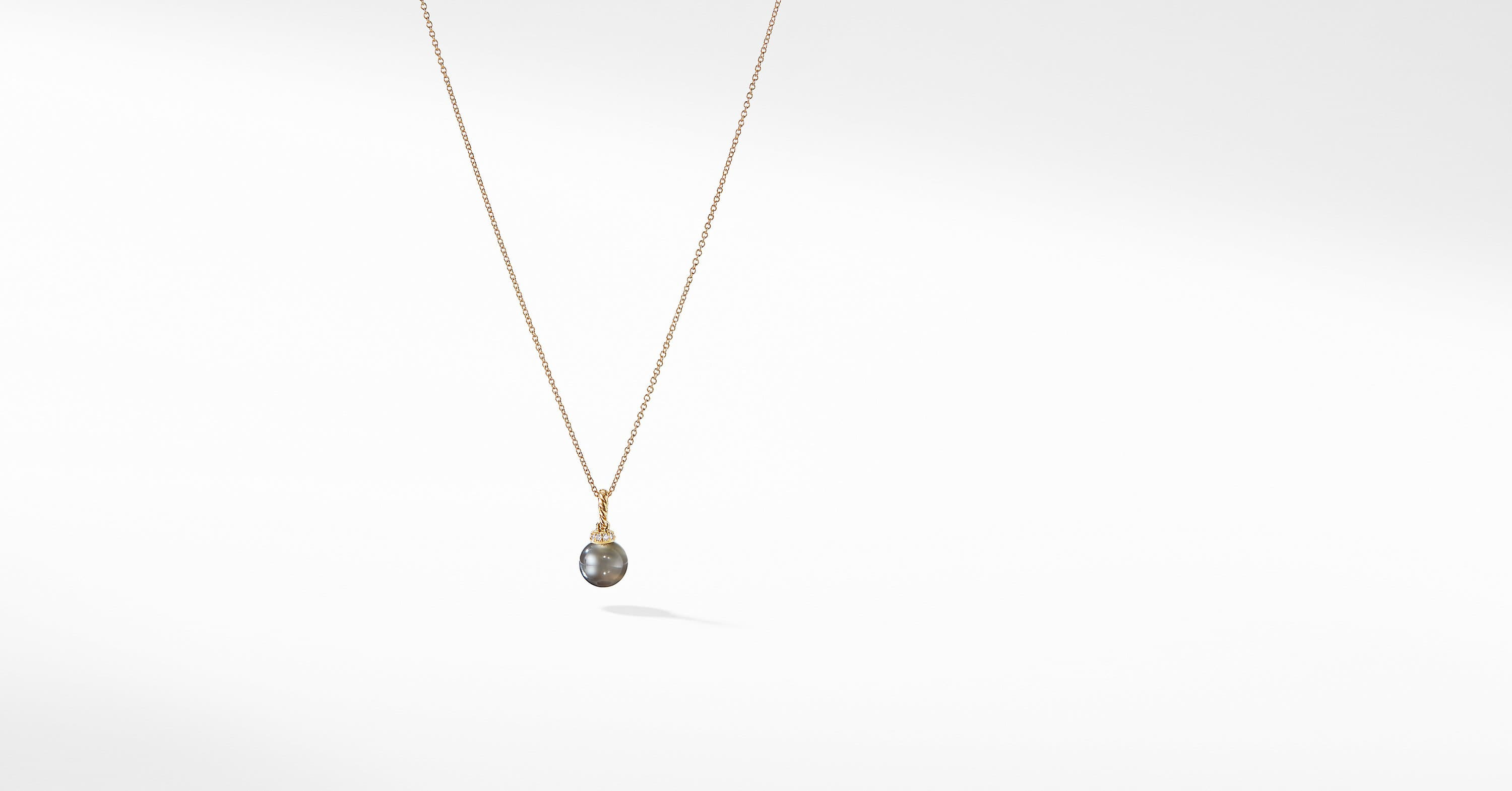 Solari Pendant Necklace with Diamonds in 18K Gold