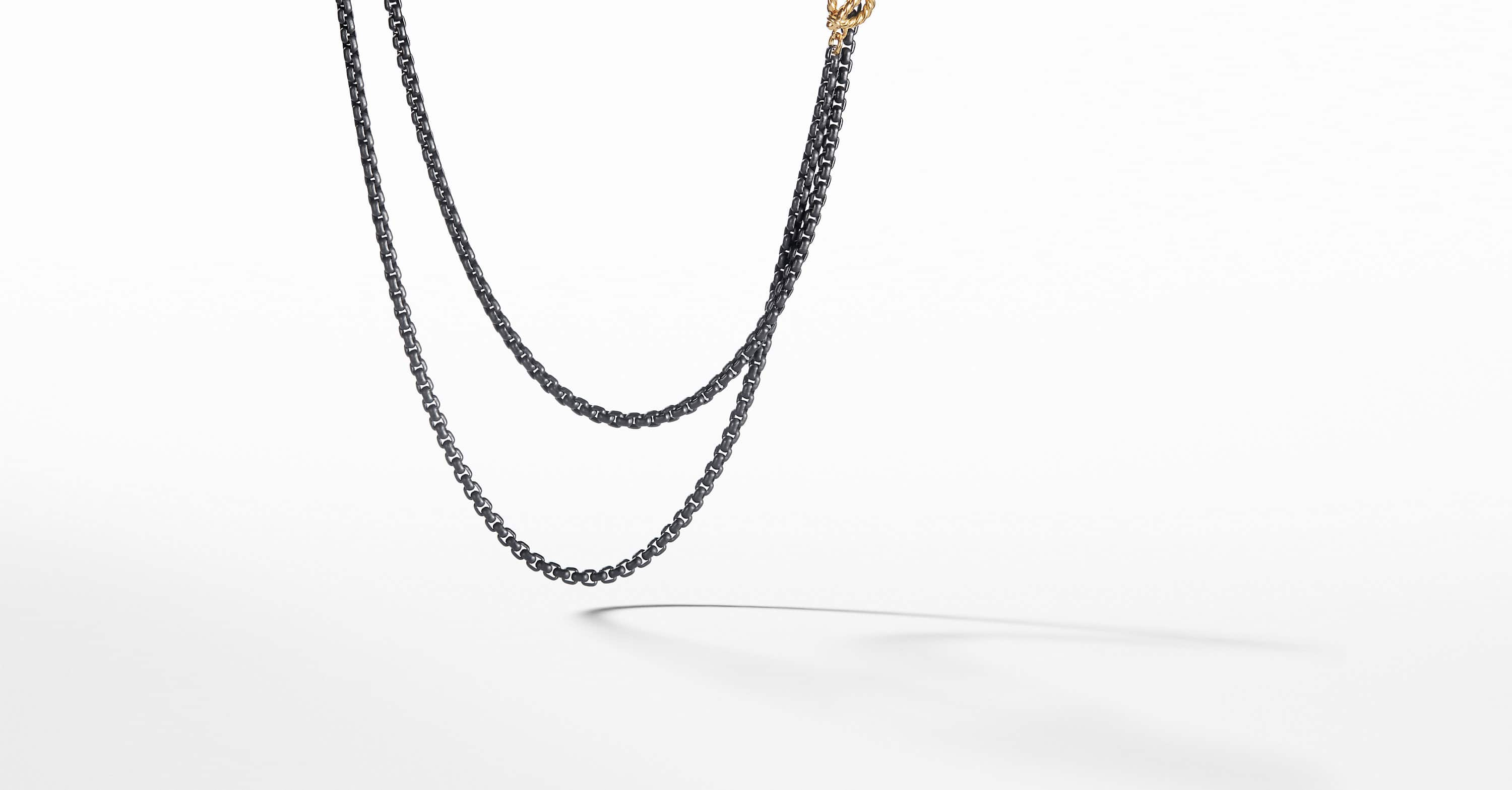 DY Bel Aire Chain Necklace with 14K Gold Accents