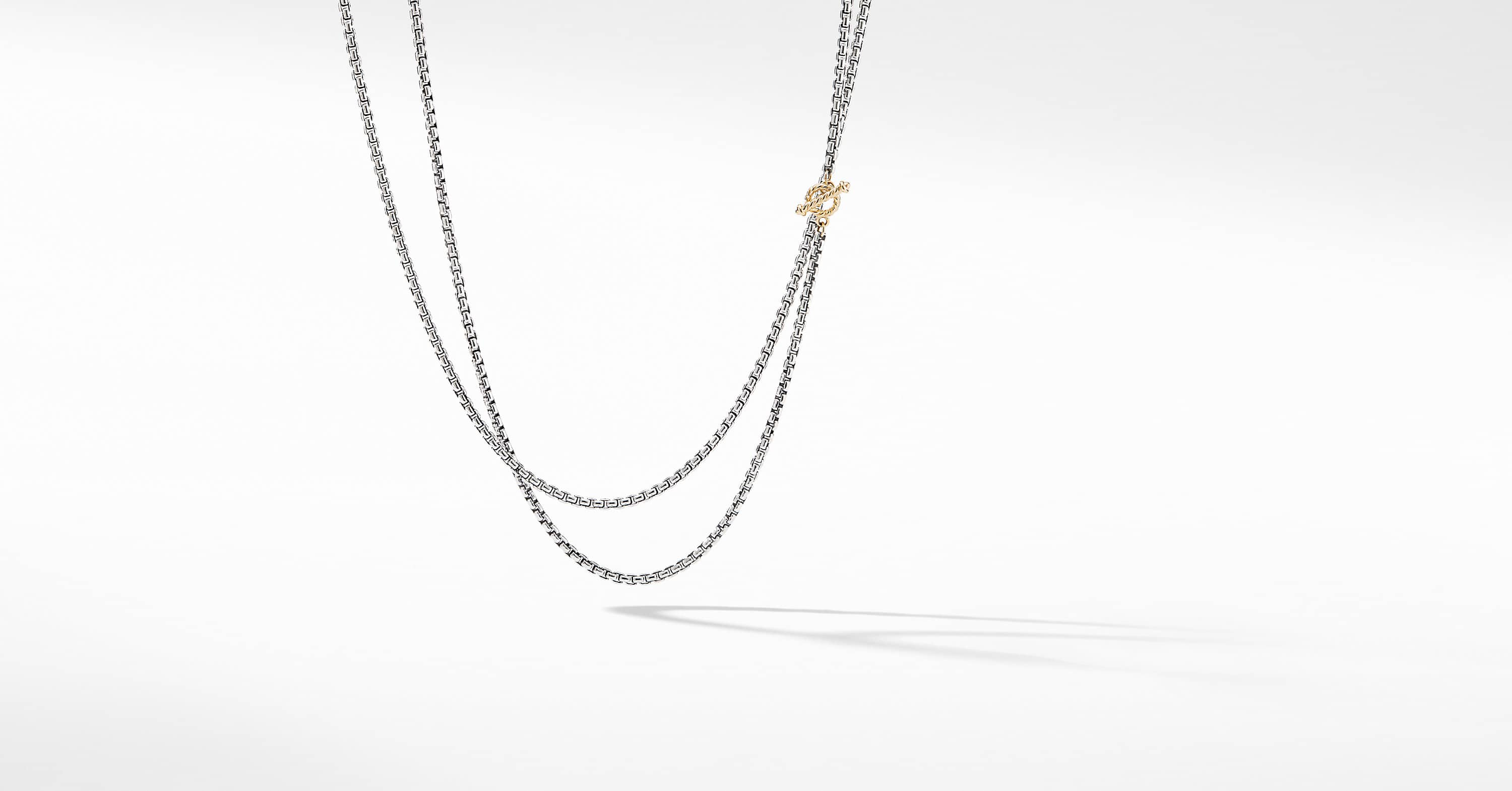 DY Bel Aire Chain Necklace with 14K Yellow Gold