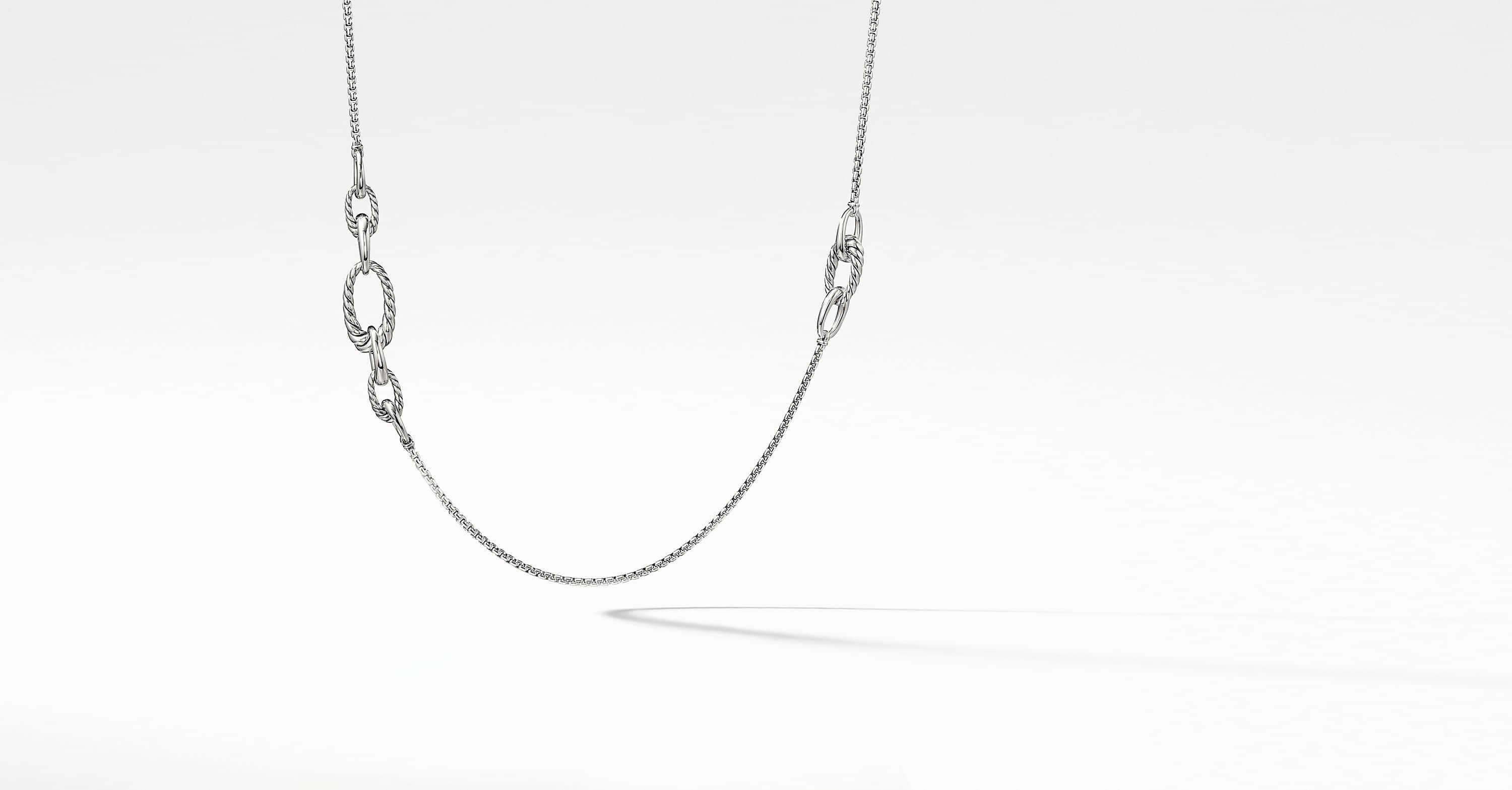 Pure Form Graduated Chain Necklace
