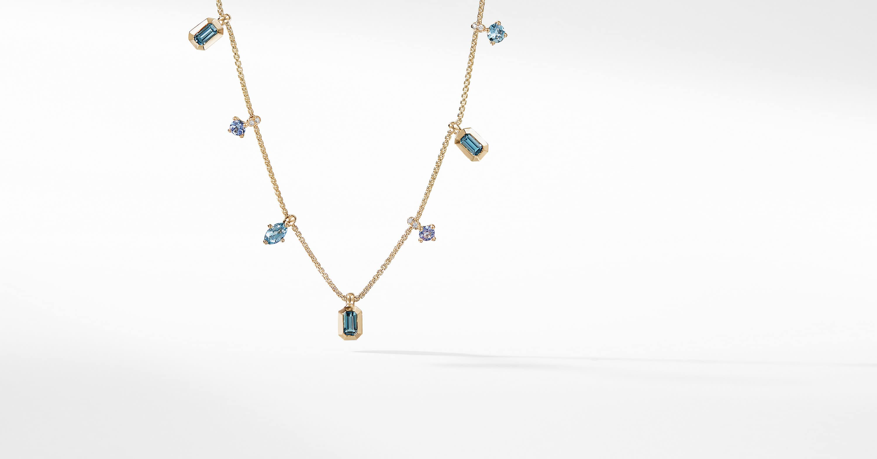 Novella Necklace in 18K Yellow Gold