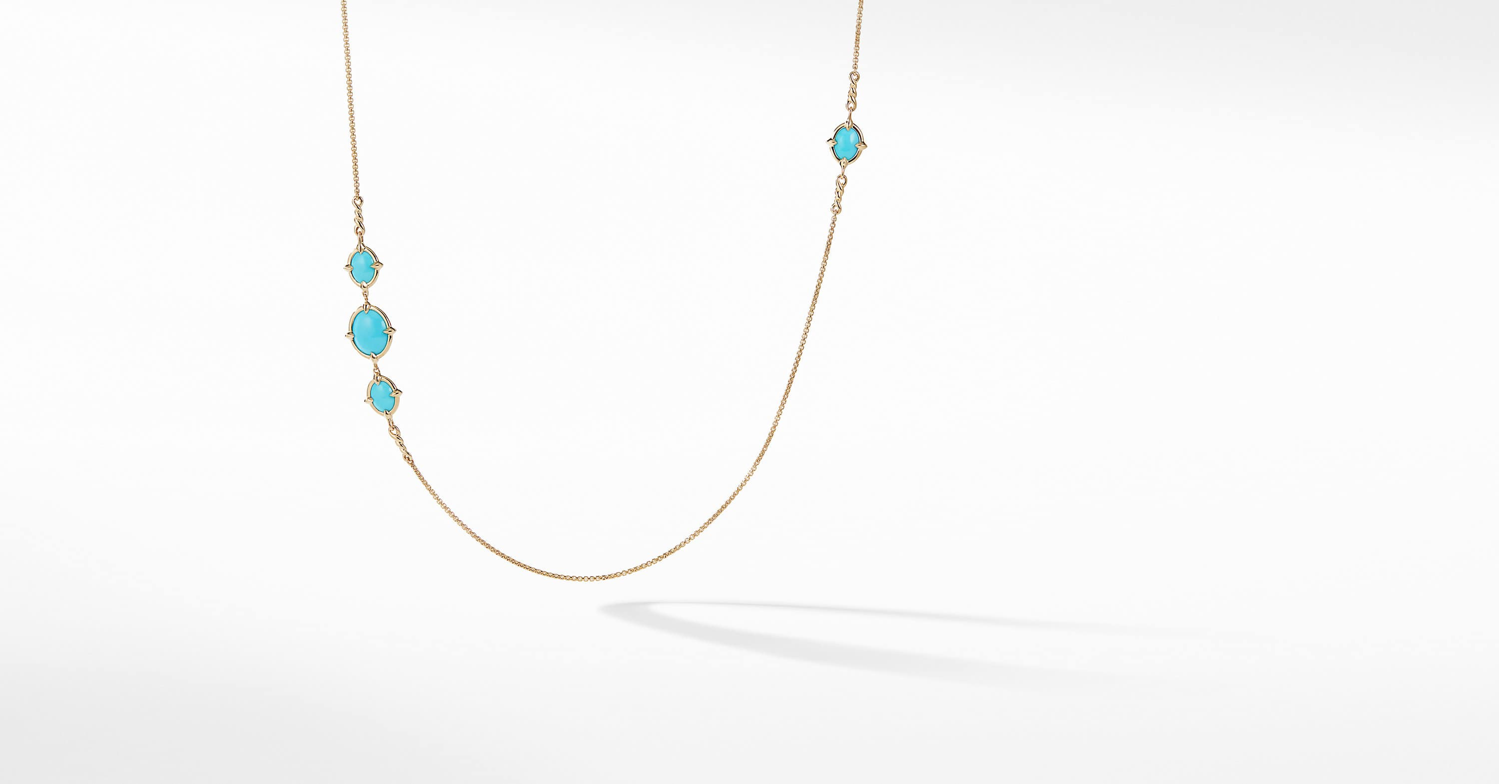 Chatelaine Long Necklace in 18K Gold