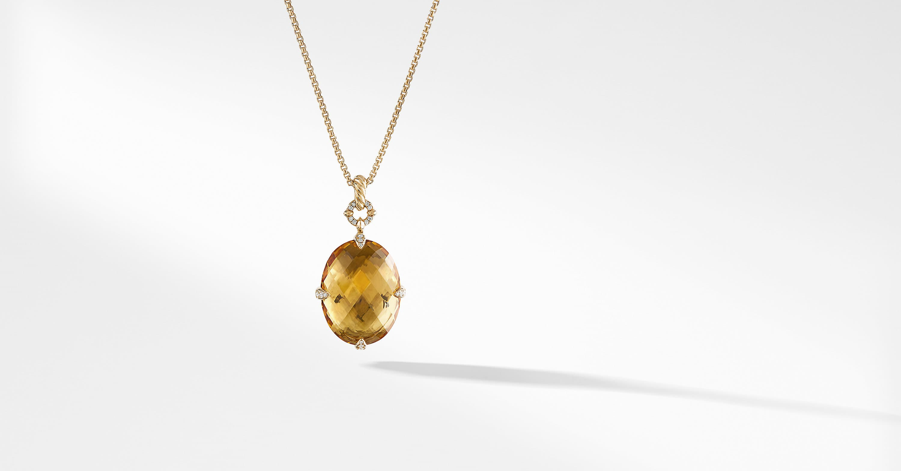 Chatelaine Pendant Necklace in 18K Gold