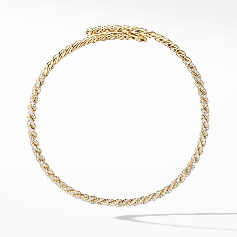 Pavéflex Necklace in 18K Yellow Yellow Gold with Diamonds