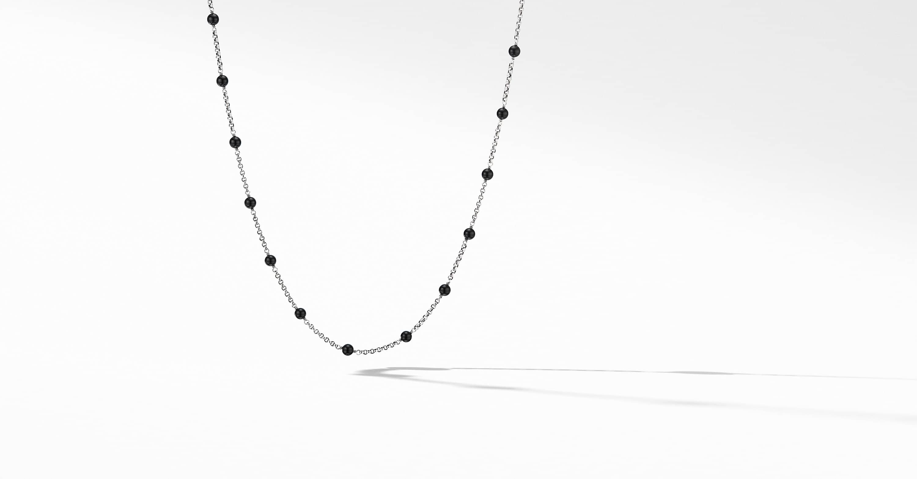 Cable Collectibles Bead and Chain Necklace