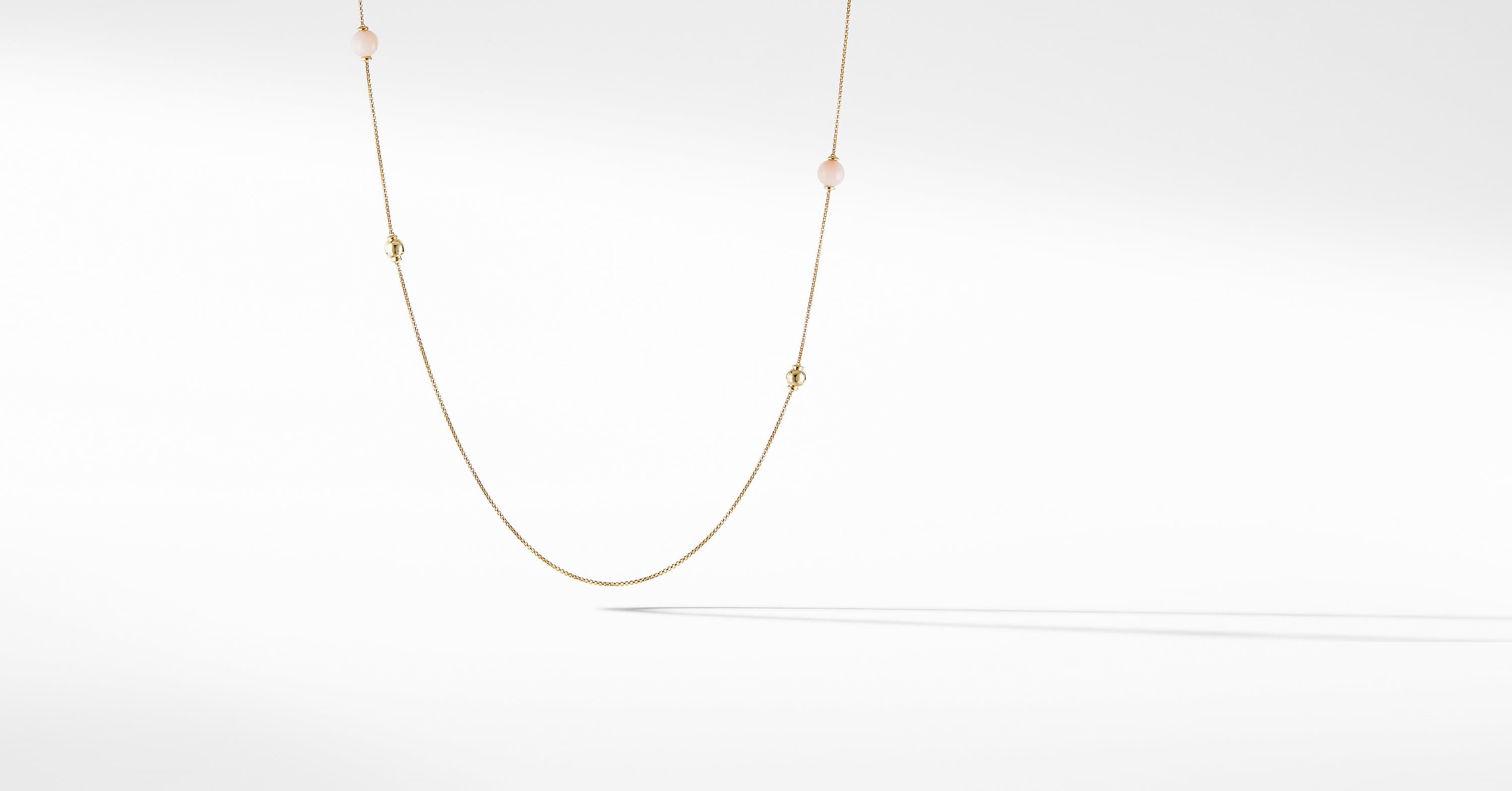 Solari Station Necklace in 18K Yellow Gold