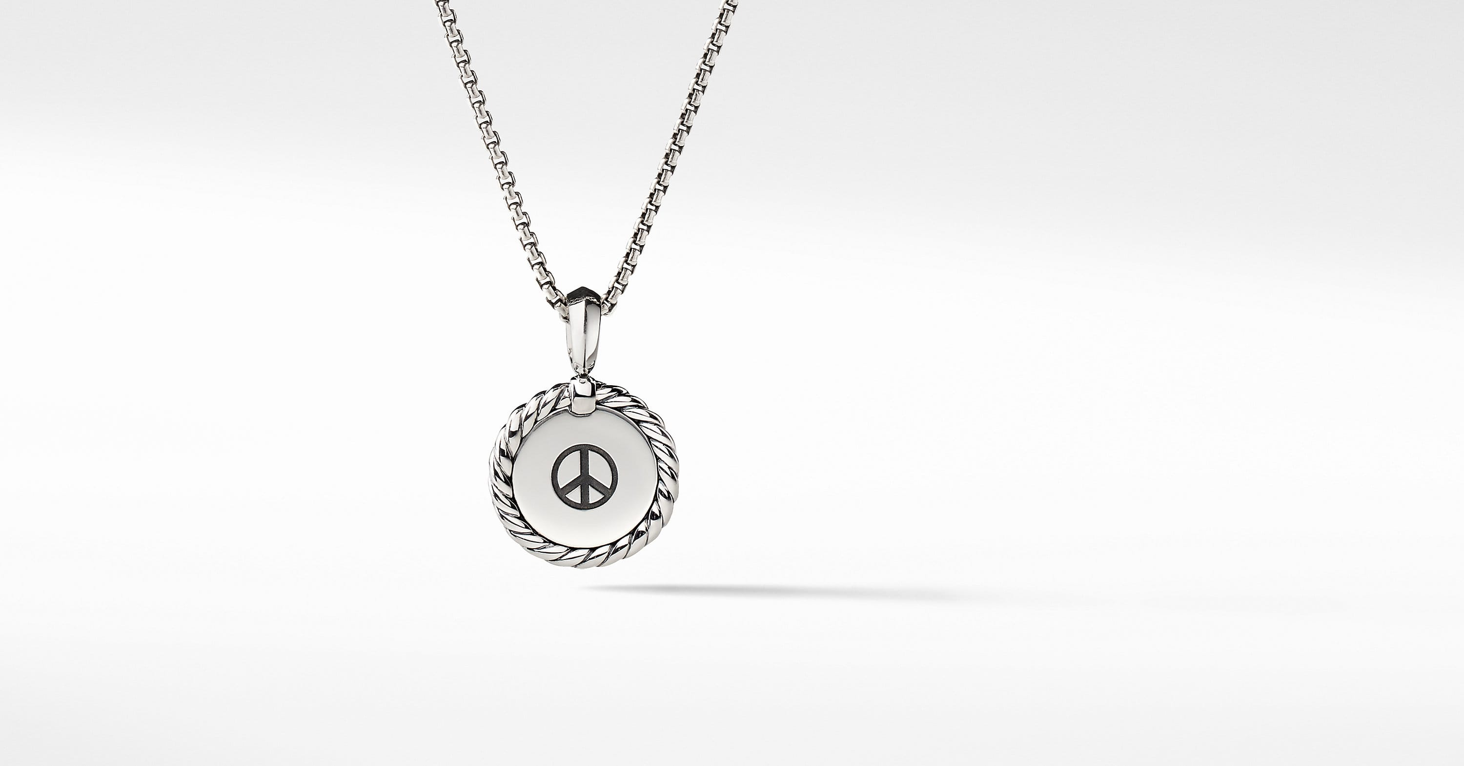 Cable Collectibles Engravable Pendant Necklace