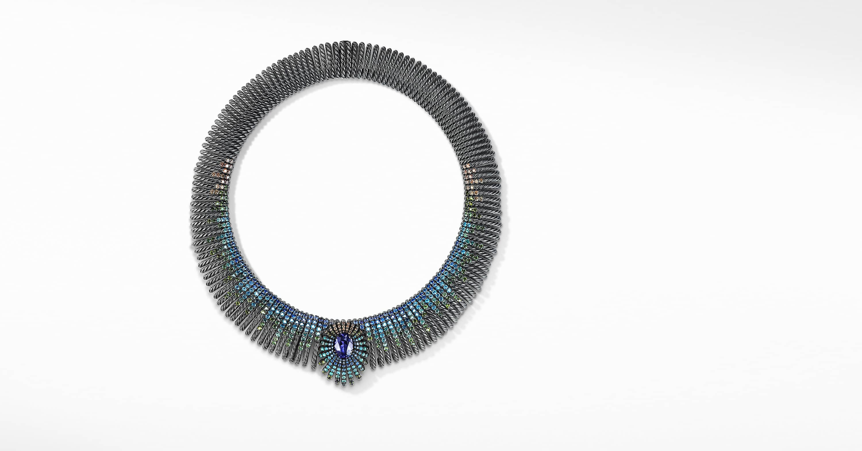 Tempo Peacock Necklace