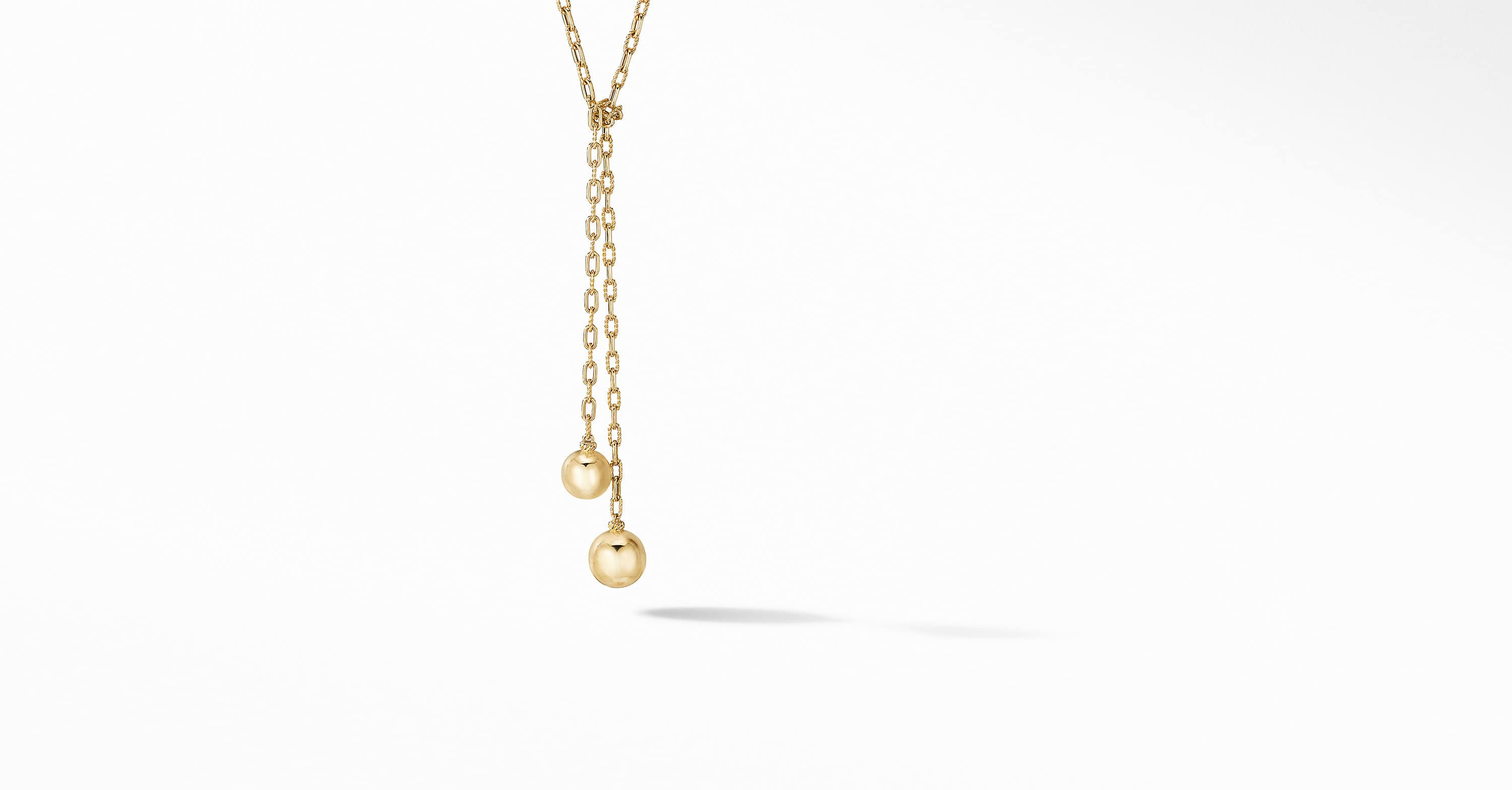 Solari Wrap Necklace in 18K Yellow Gold