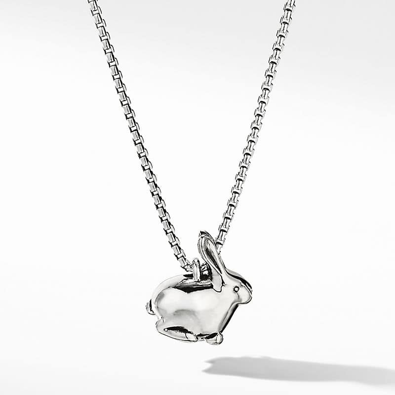 Cable Collectibles® Bunny Charm Necklace