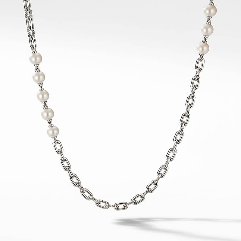 DY Madison Pearl Chain Necklace, 6.4mm