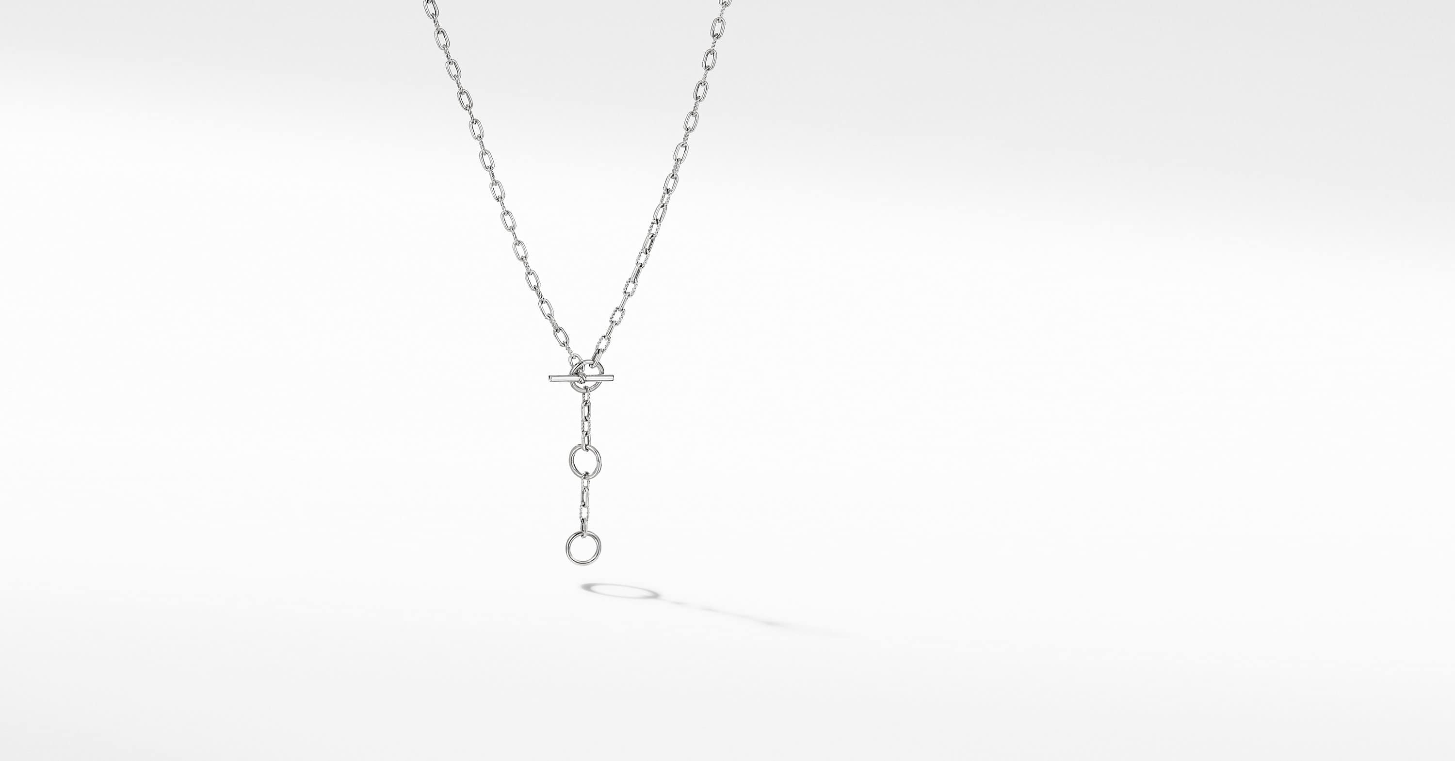 DY Madison Three Ring Chain Necklace