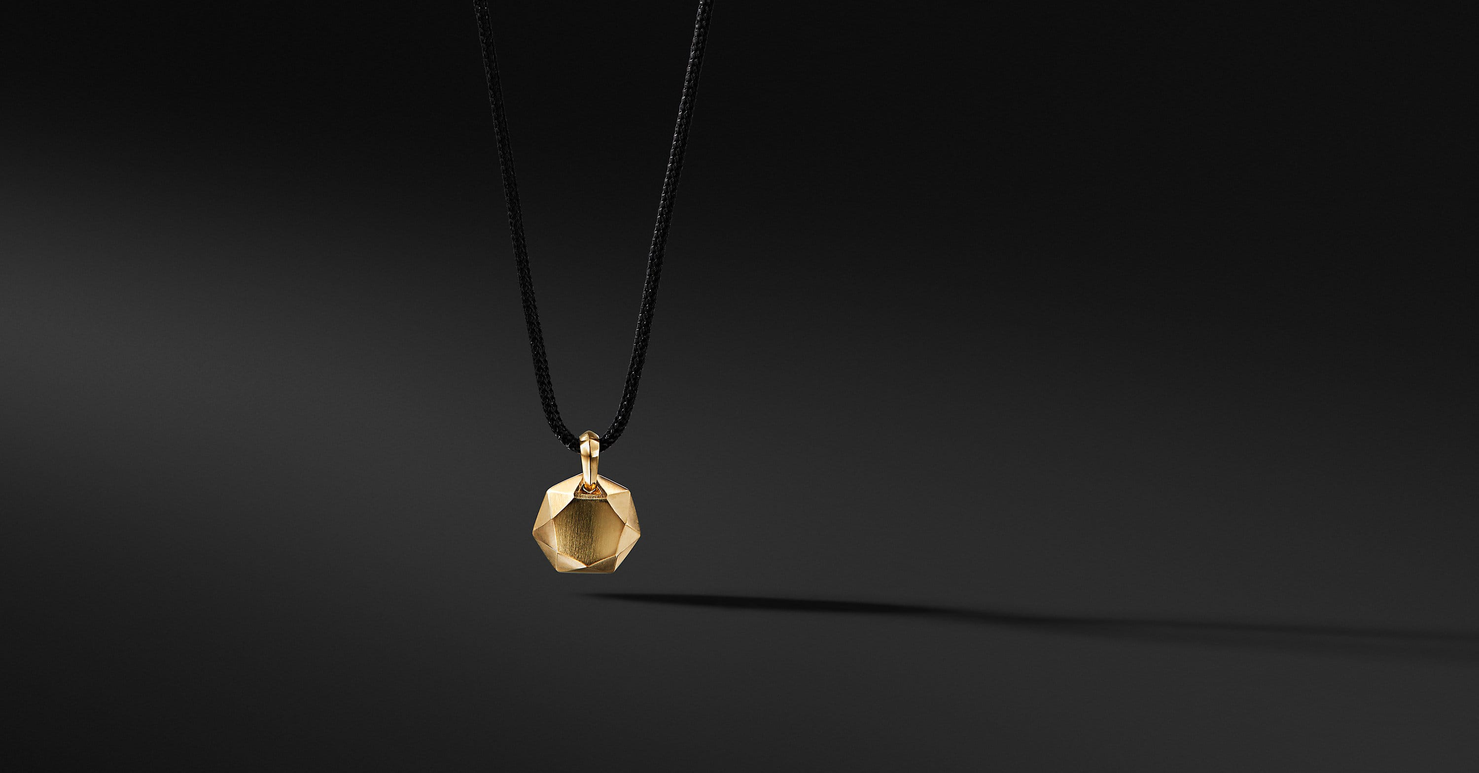 DY Fortune Pendant Necklace in 18K Gold