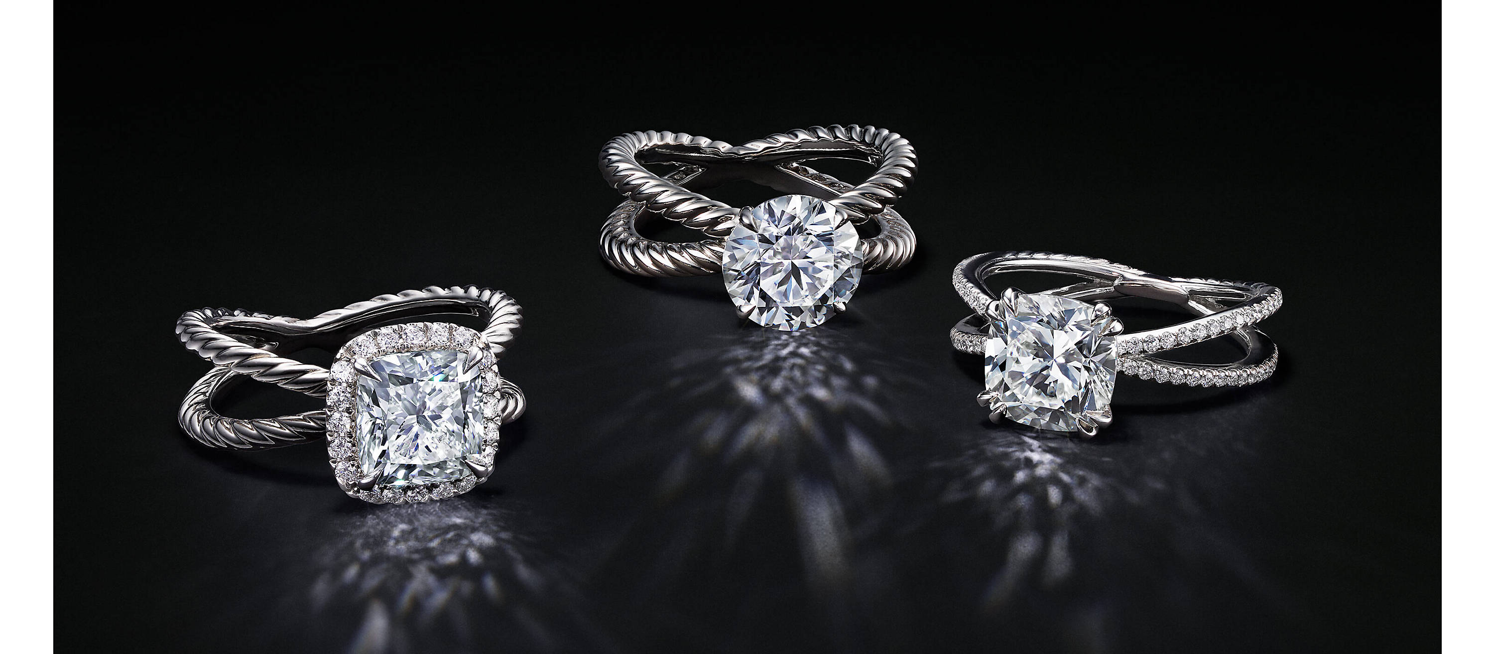 3ef1643fabe19 Engagement Rings | Bands for Her | DAVID YURMAN