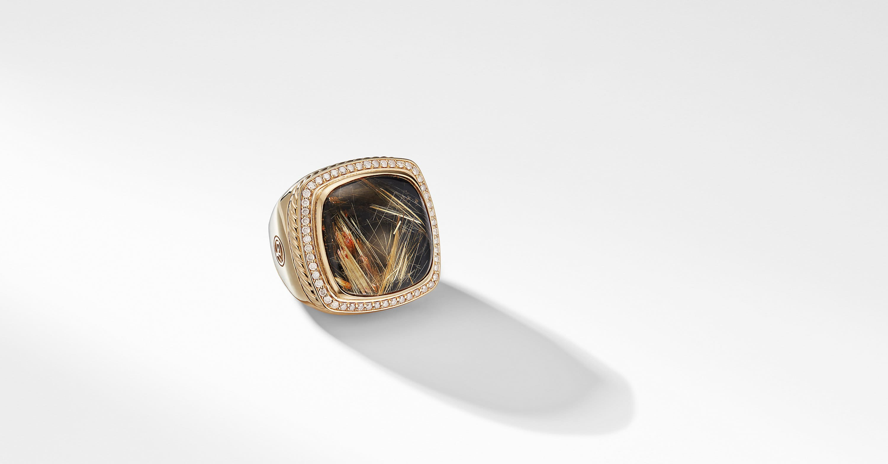 Albion Statement Ring in 18K Gold, 20mm