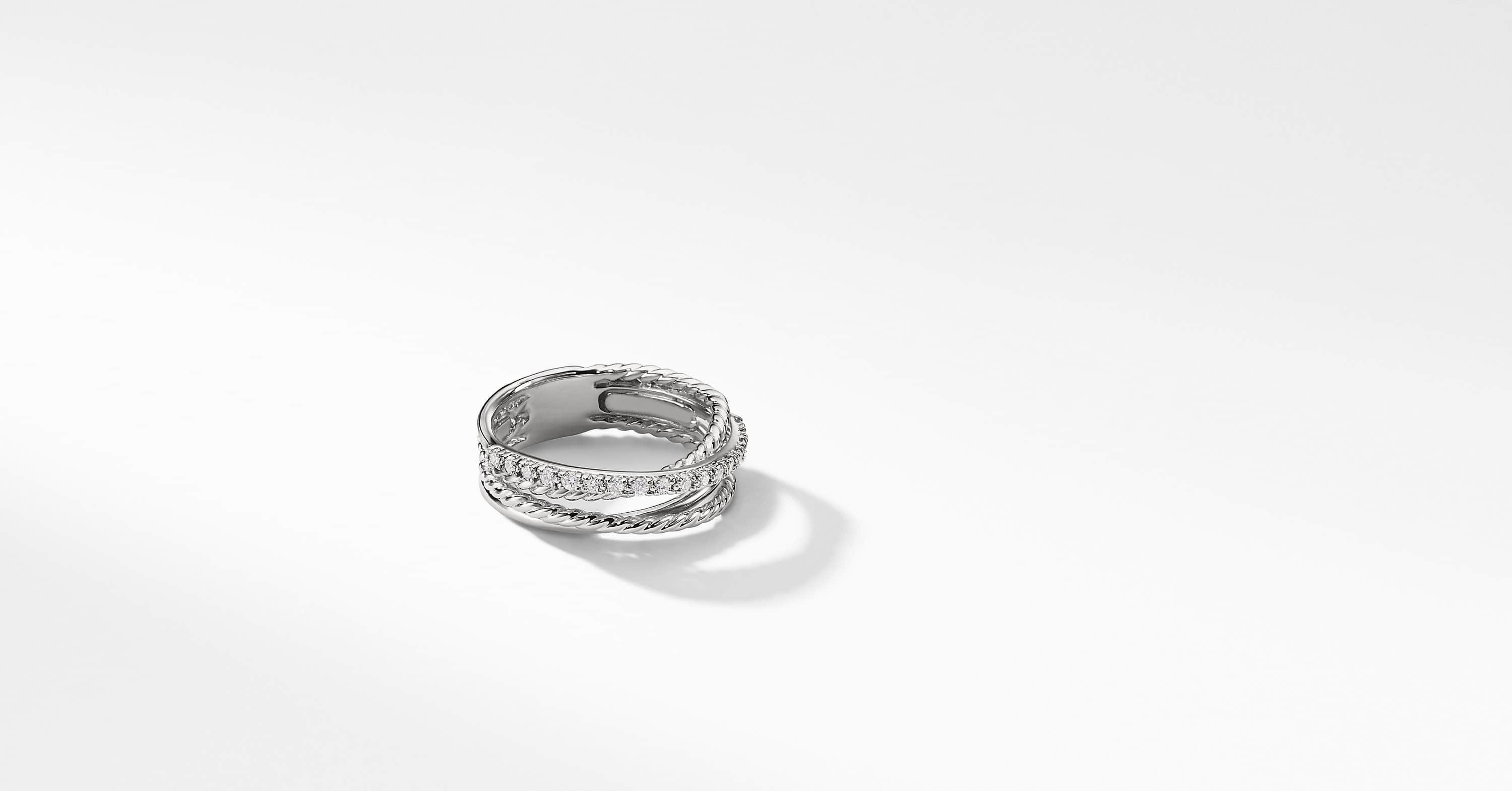 Bague avec diamants The Crossover Collection