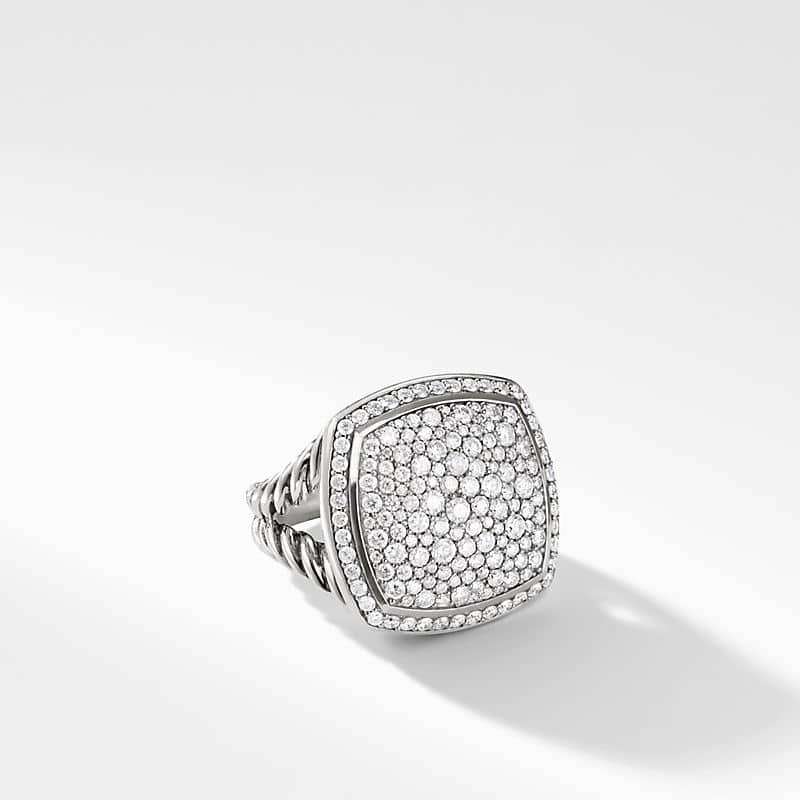 Albion Ring with Pavé, 17mm