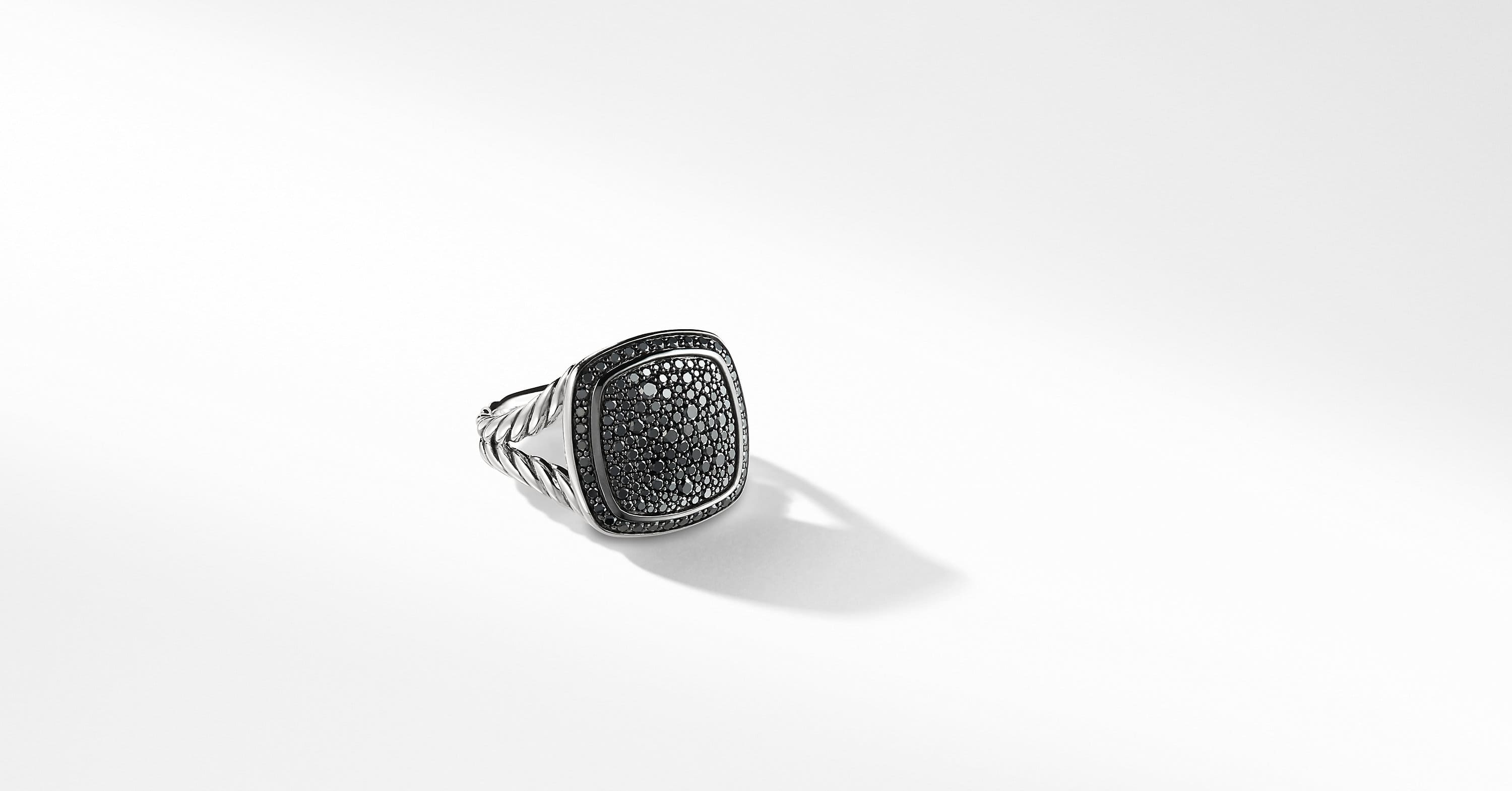 Albion Ring with Diamonds, 14mm