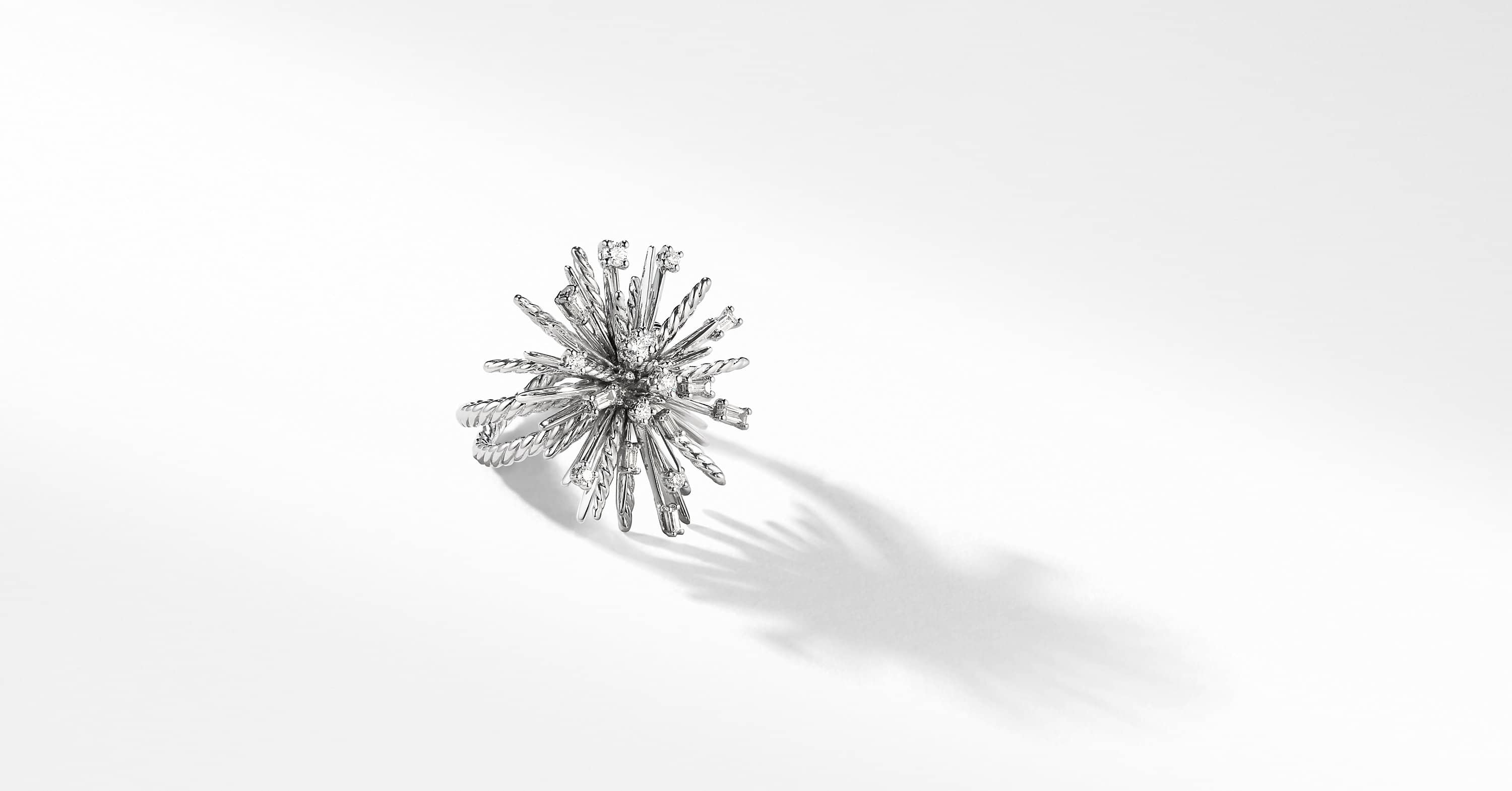 Bague Supernova en or blanc 18 carats et diamants