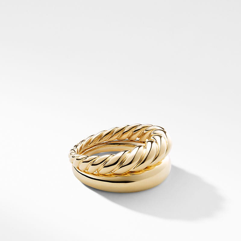 Pure Form® Stack Rings in 18K Gold
